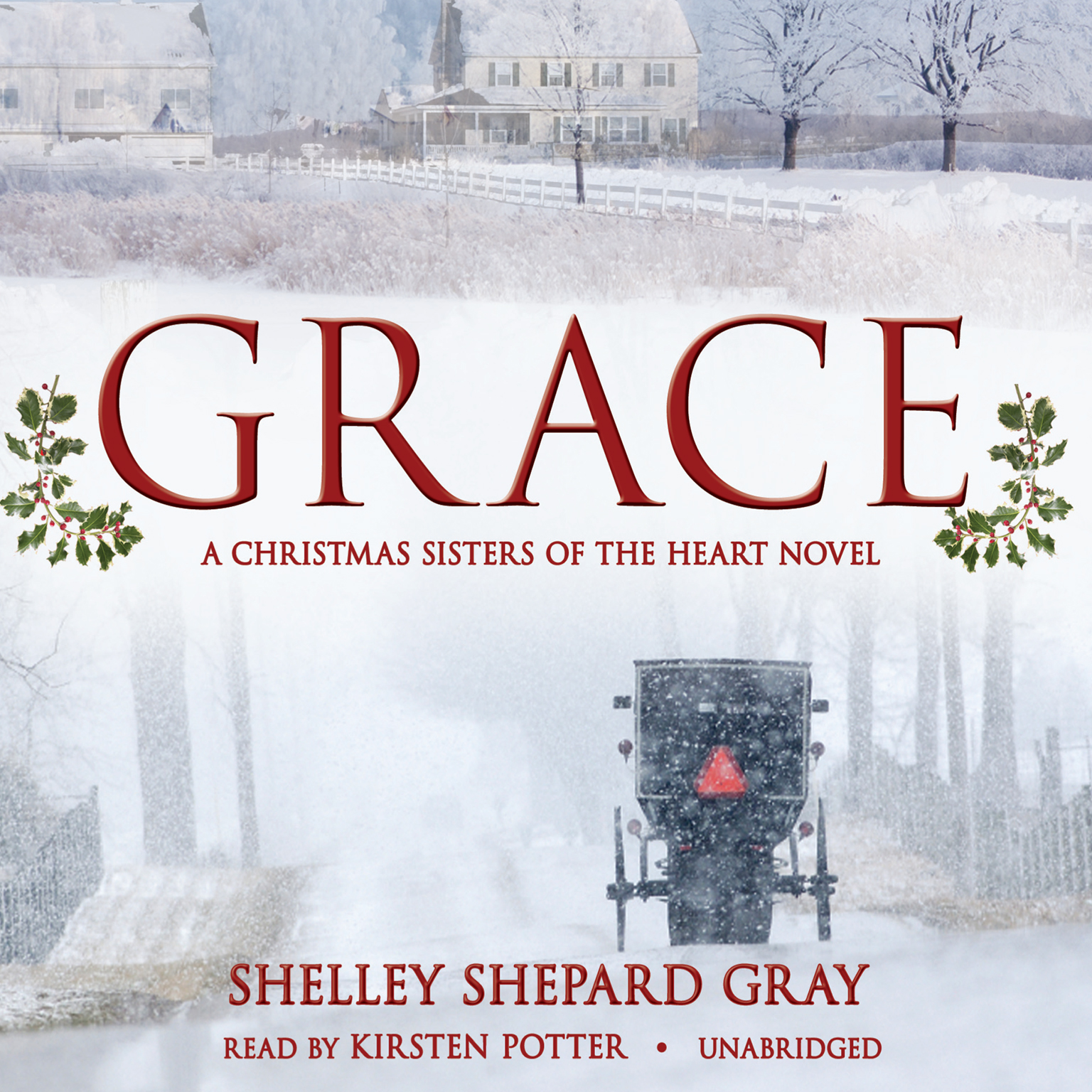 Printable Grace: A Christmas Sisters of the Heart Novel Audiobook Cover Art