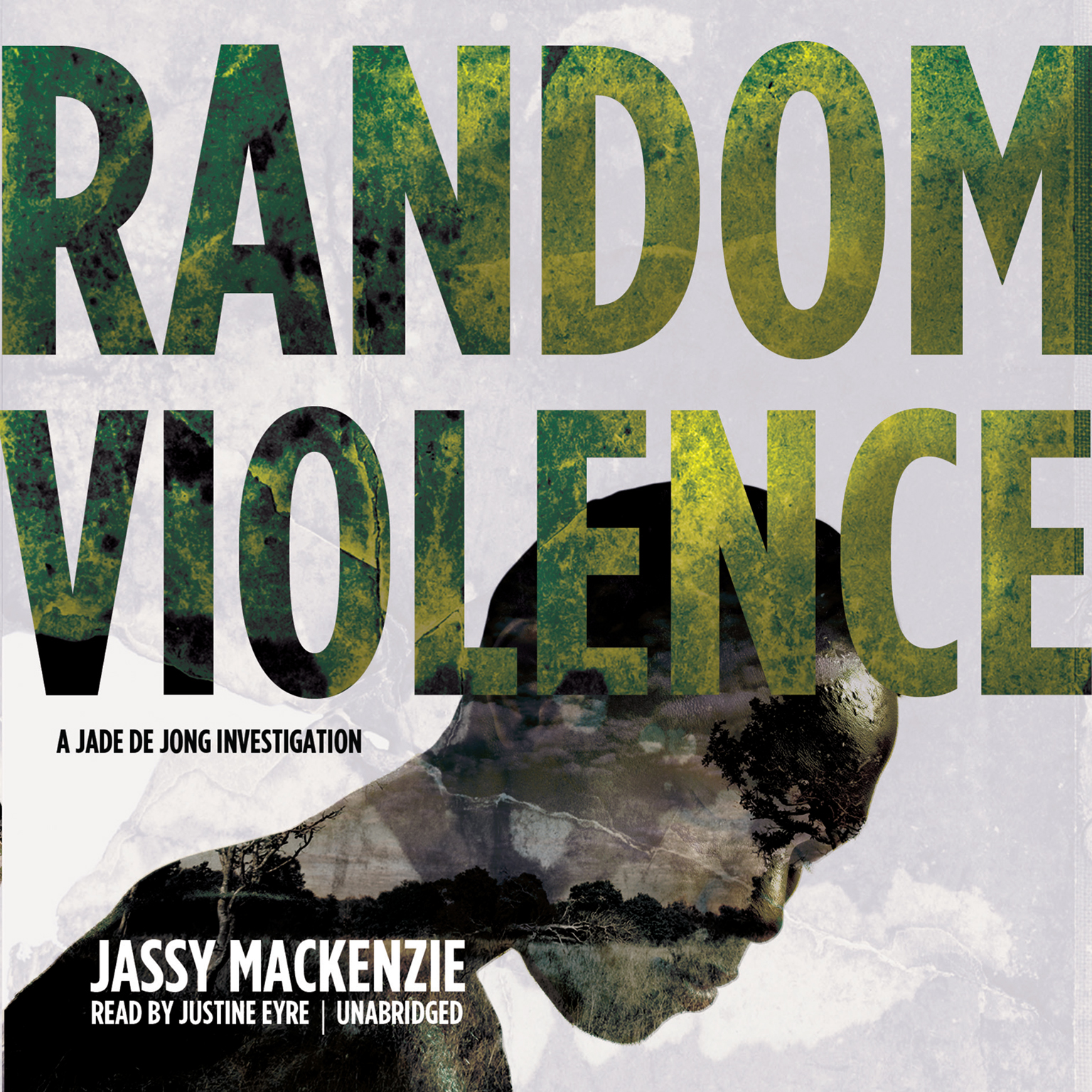 Printable Random Violence Audiobook Cover Art