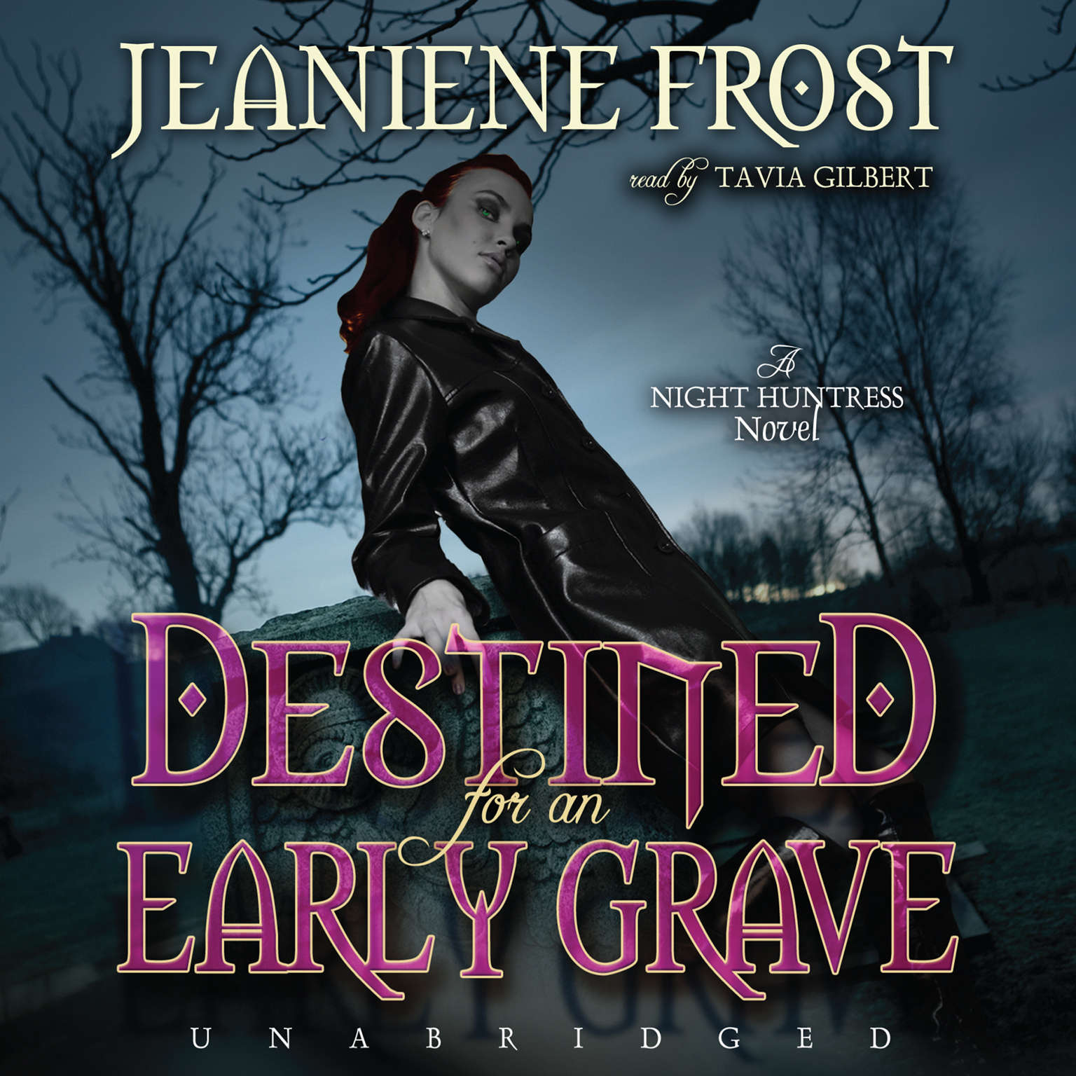 Printable Destined for an Early Grave: A Night Huntress Novel Audiobook Cover Art