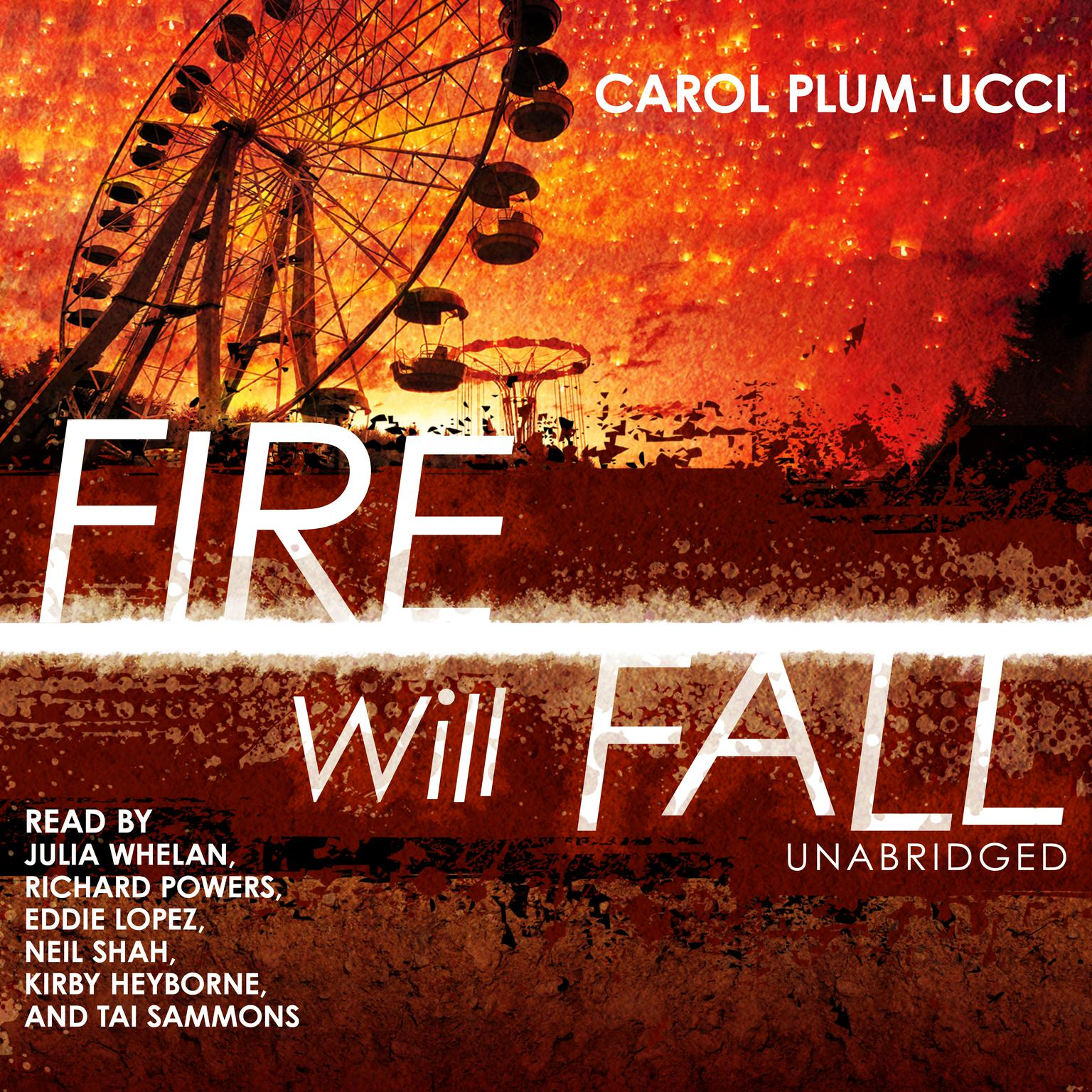 Printable Fire Will Fall Audiobook Cover Art