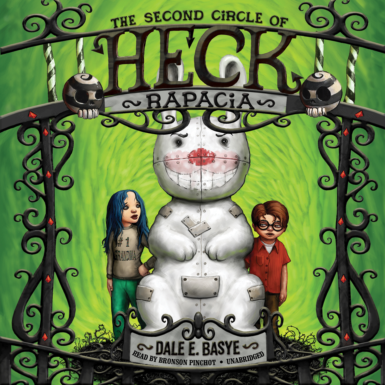 Printable Rapacia: The Second Circle of Heck Audiobook Cover Art