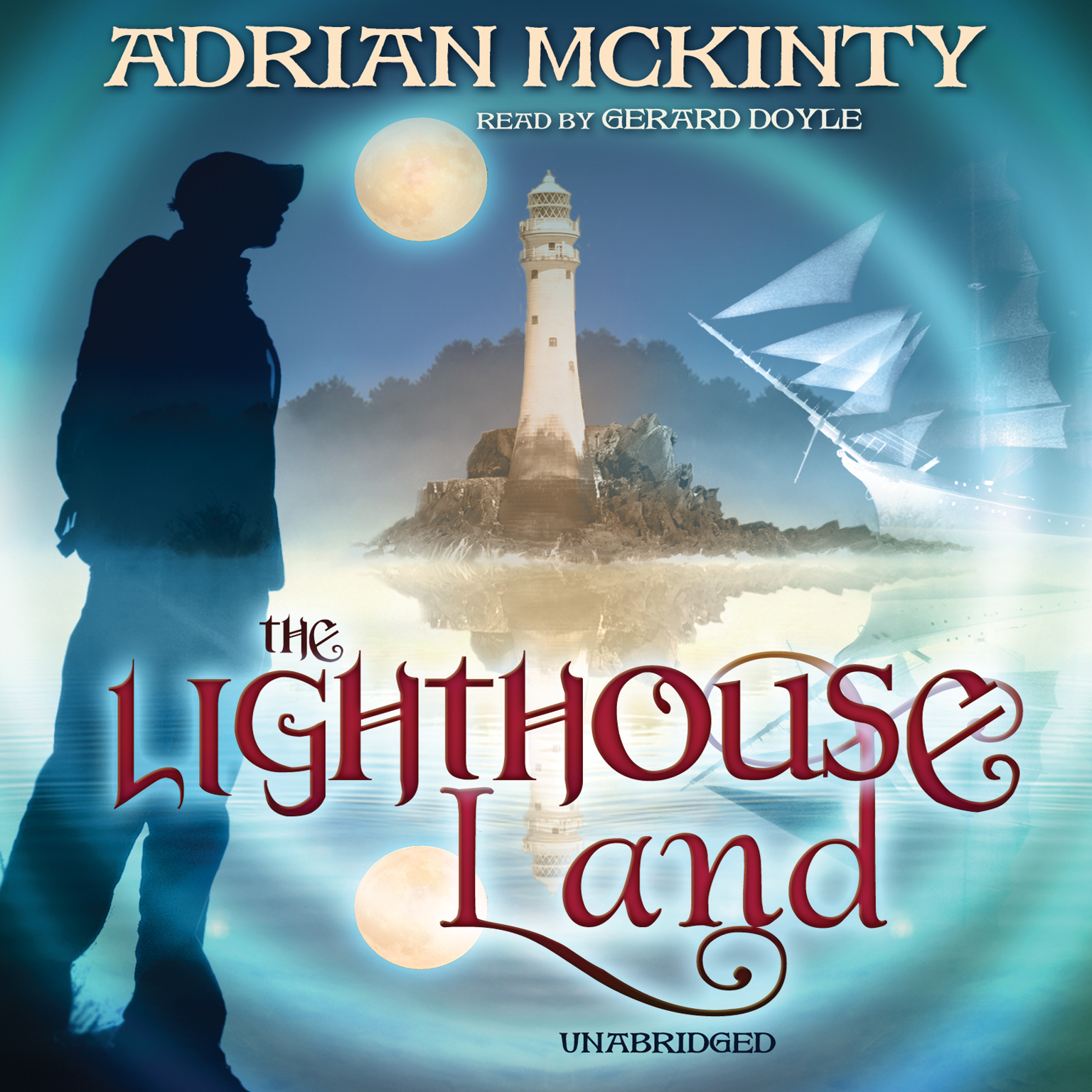 Printable The Lighthouse Land Audiobook Cover Art