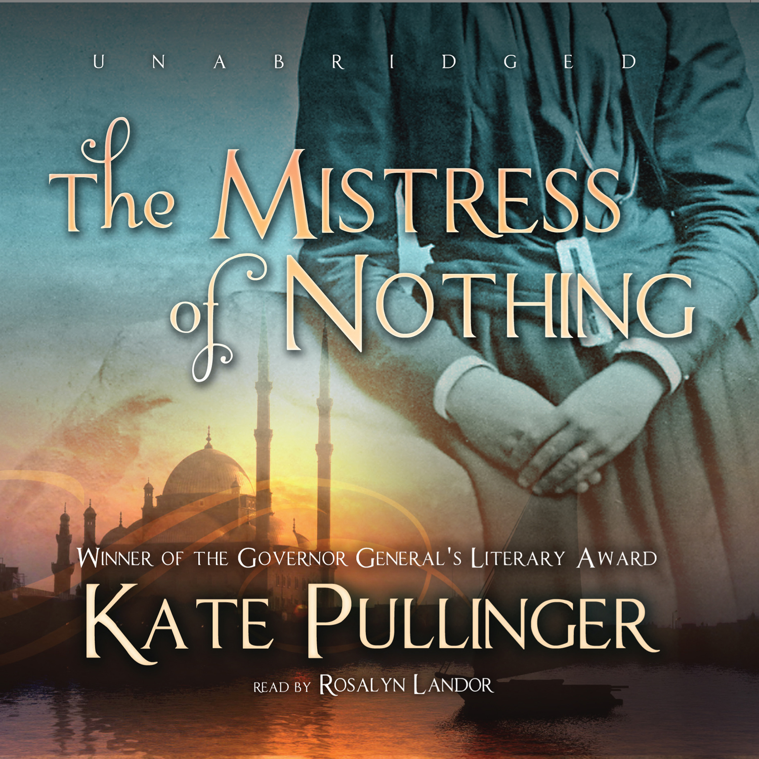 Printable The Mistress of Nothing Audiobook Cover Art
