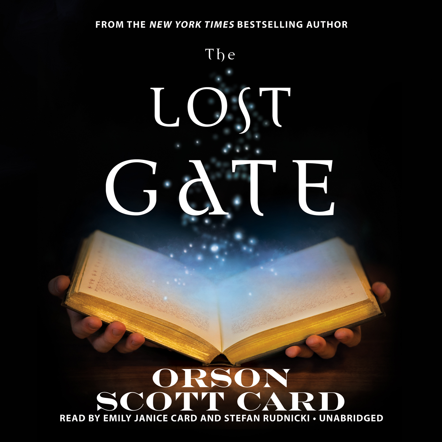 Printable The Lost Gate Audiobook Cover Art