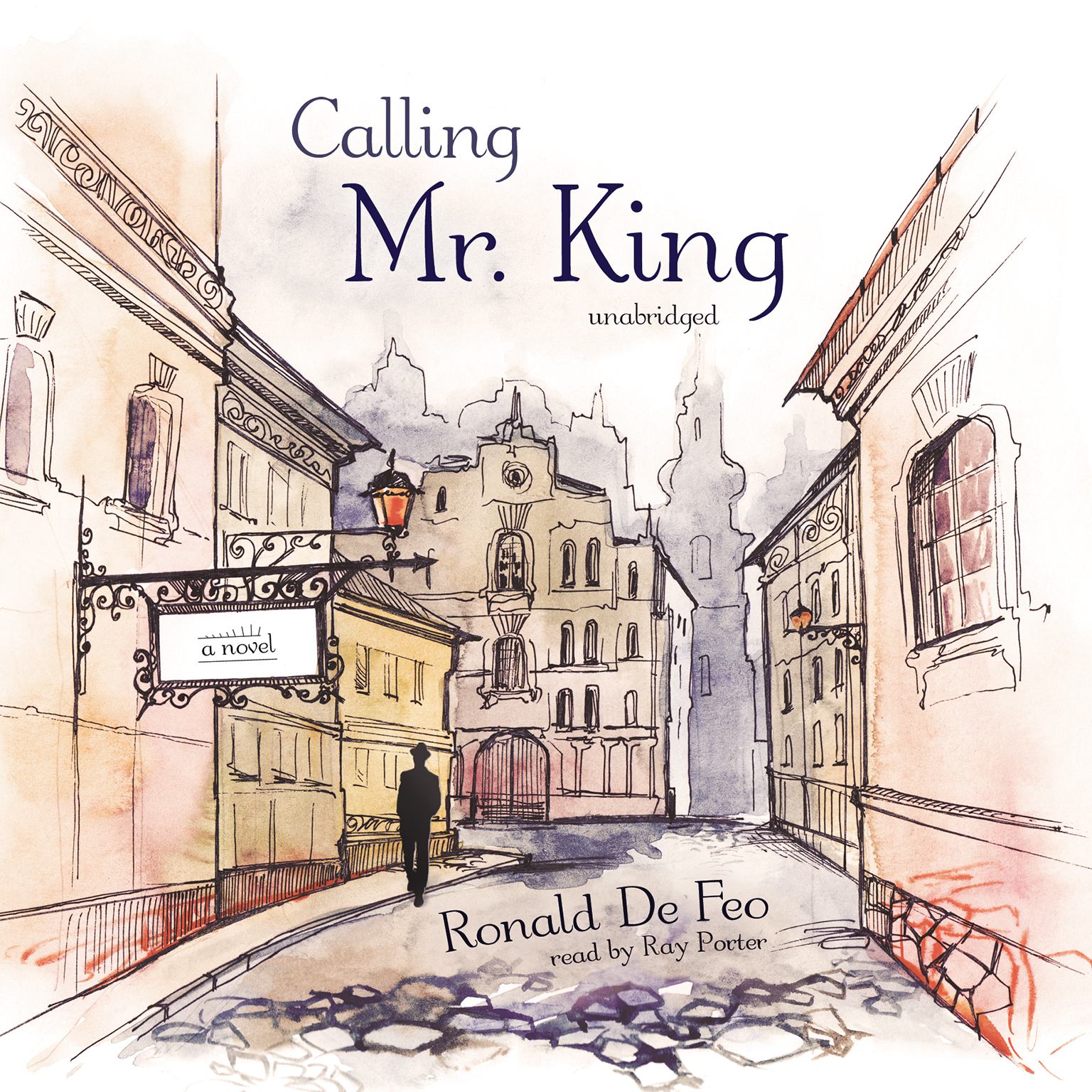 Printable Calling Mr. King: A Novel Audiobook Cover Art