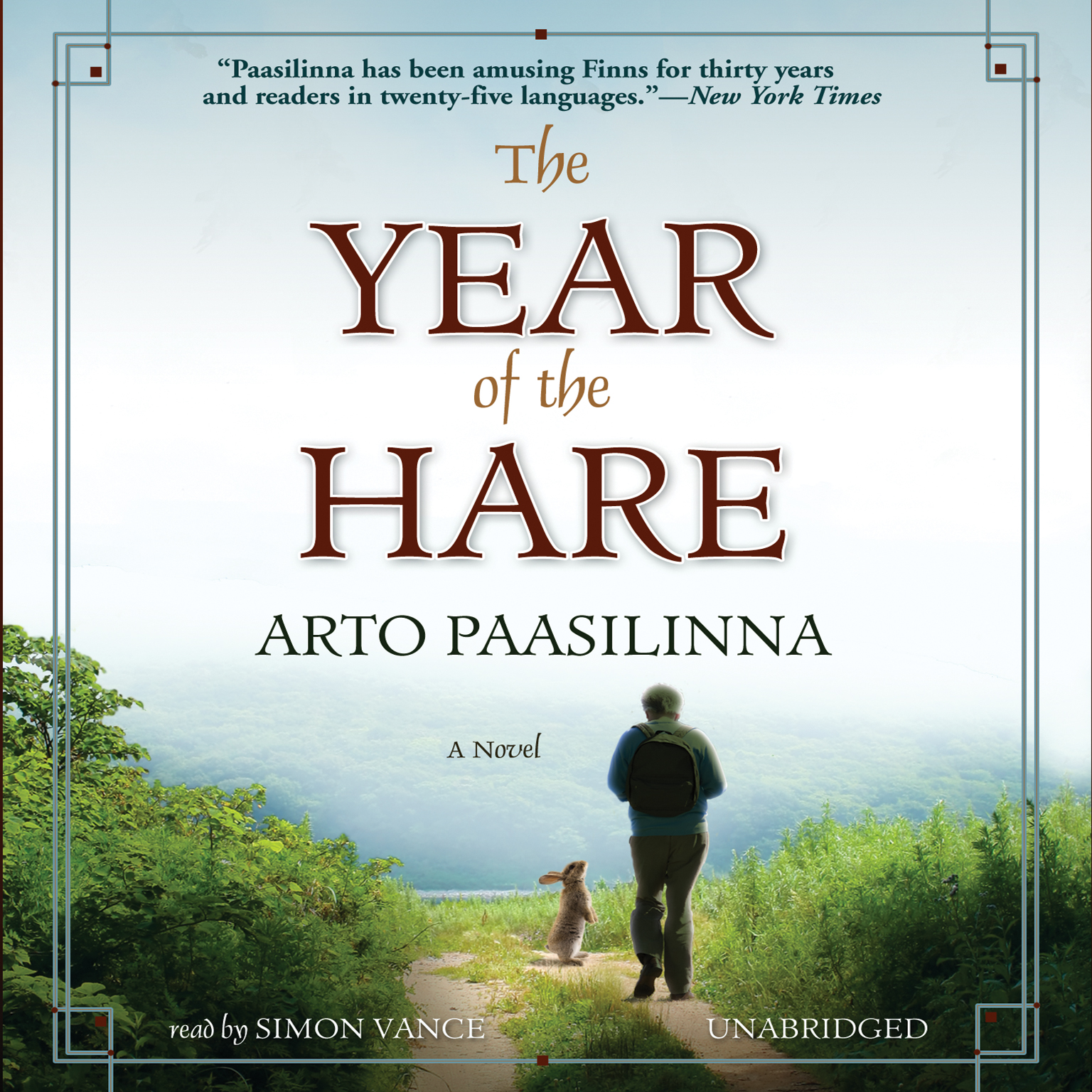 Printable The Year of the Hare: A Novel Audiobook Cover Art