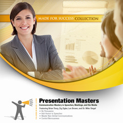 Presentation Masters: Communication Mastery in Speeches, Meetings, and the Media Audiobook, by Made for Success