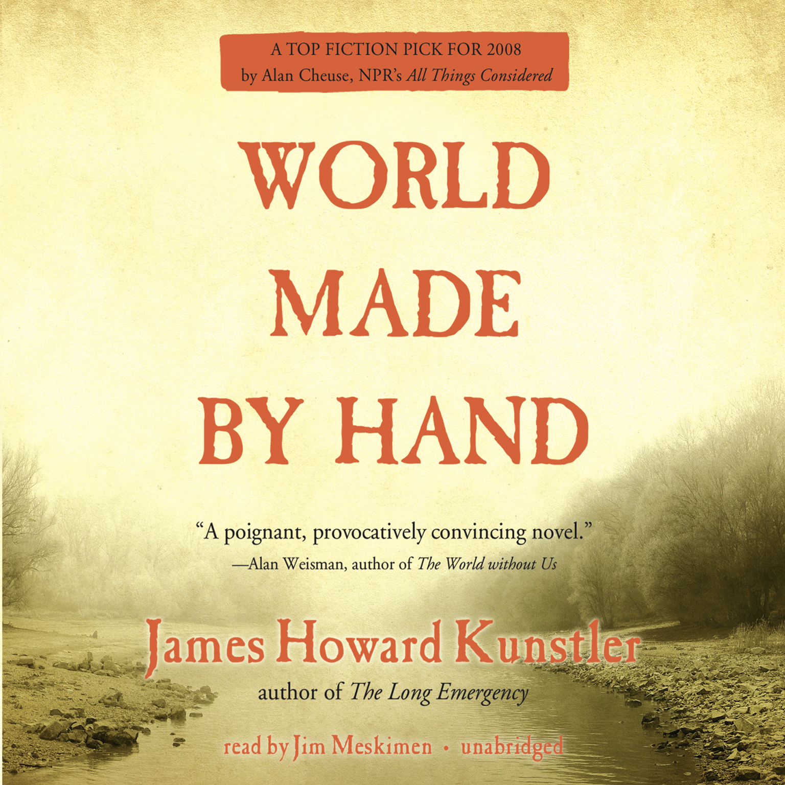Printable World Made by Hand Audiobook Cover Art