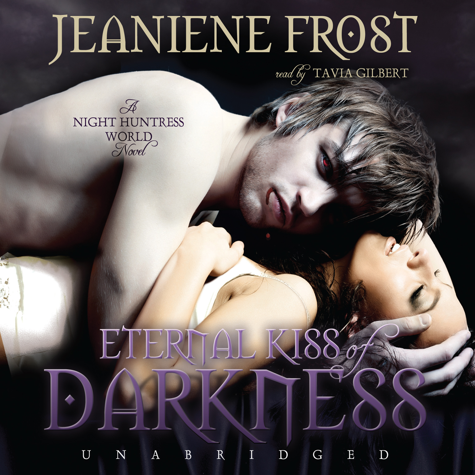 Printable Eternal Kiss of Darkness Audiobook Cover Art