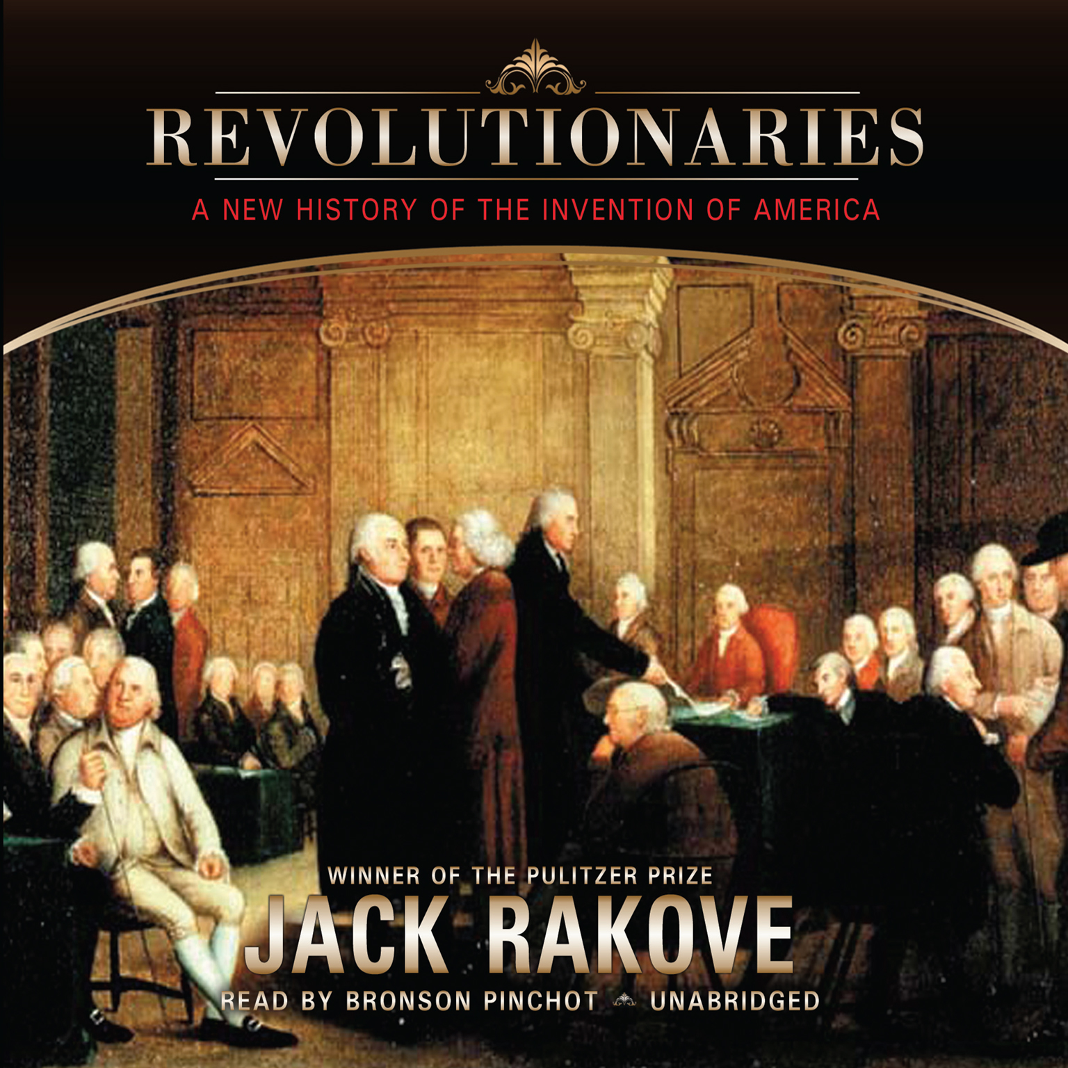 Printable Revolutionaries: A New History of the Invention of America Audiobook Cover Art