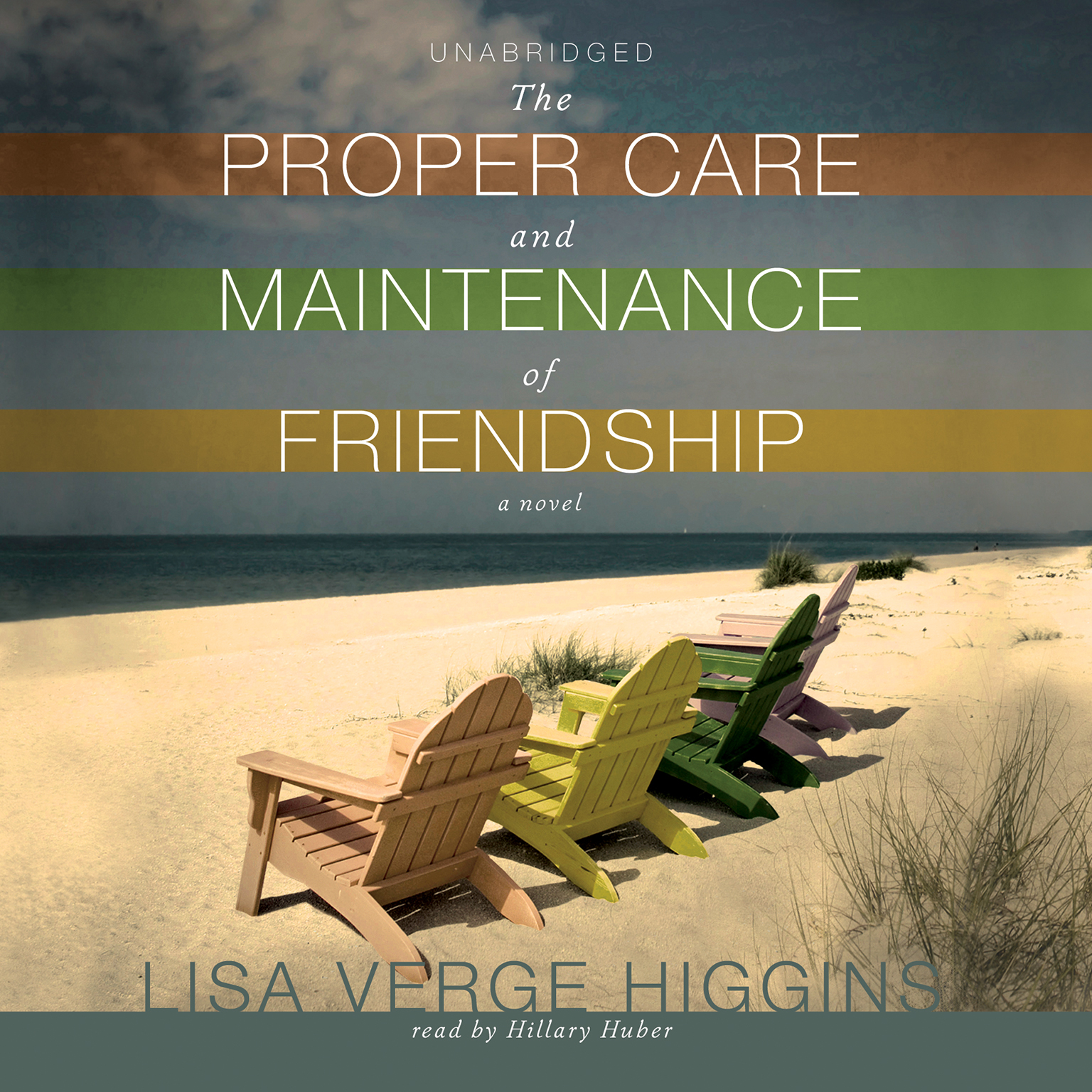 Printable The Proper Care and Maintenance of Friendship Audiobook Cover Art