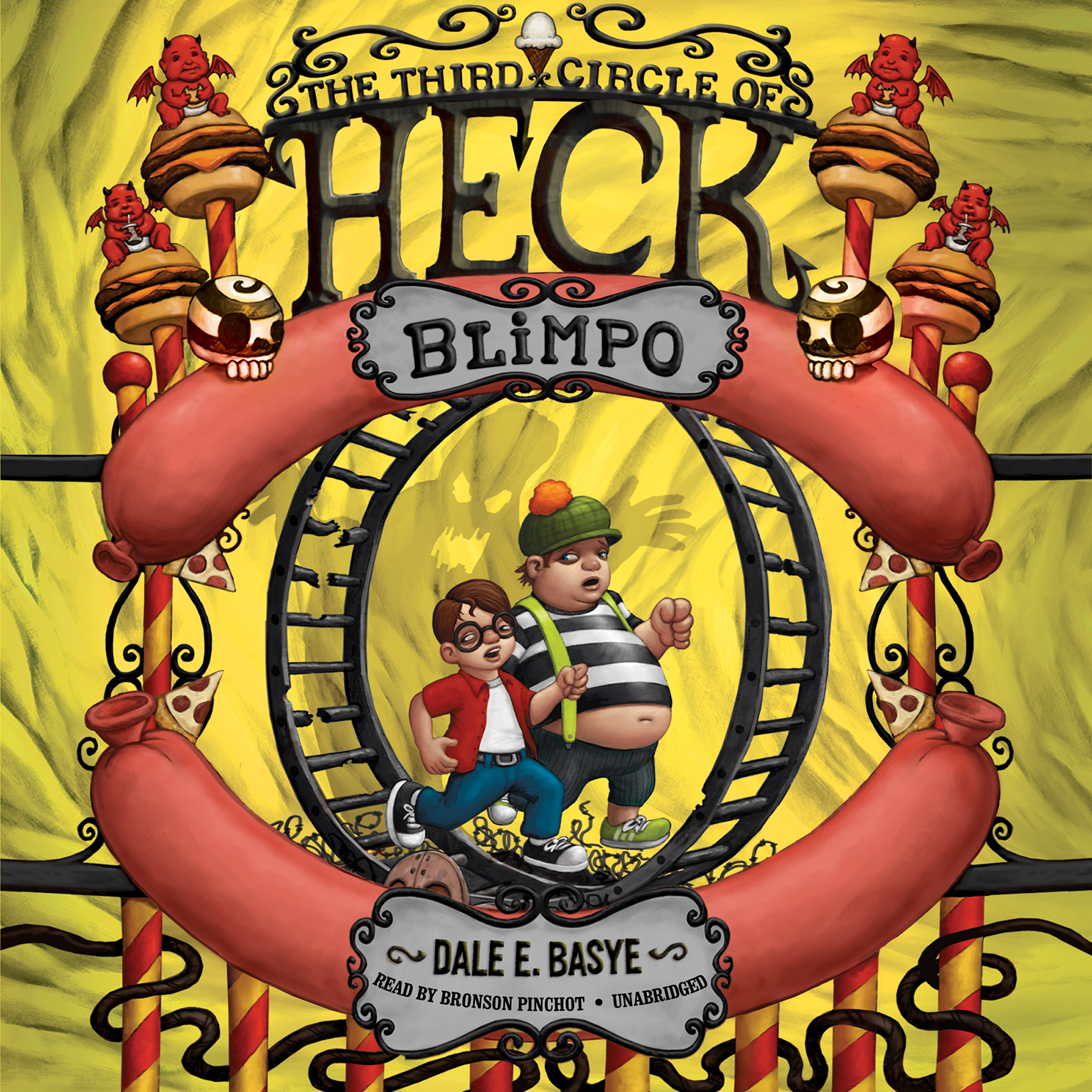 Blimpo: The Third Circle of Heck Audiobook, by Dale E. Basye