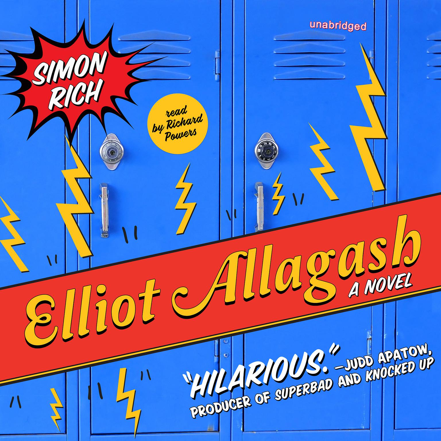 Printable Elliot Allagash: A Novel Audiobook Cover Art
