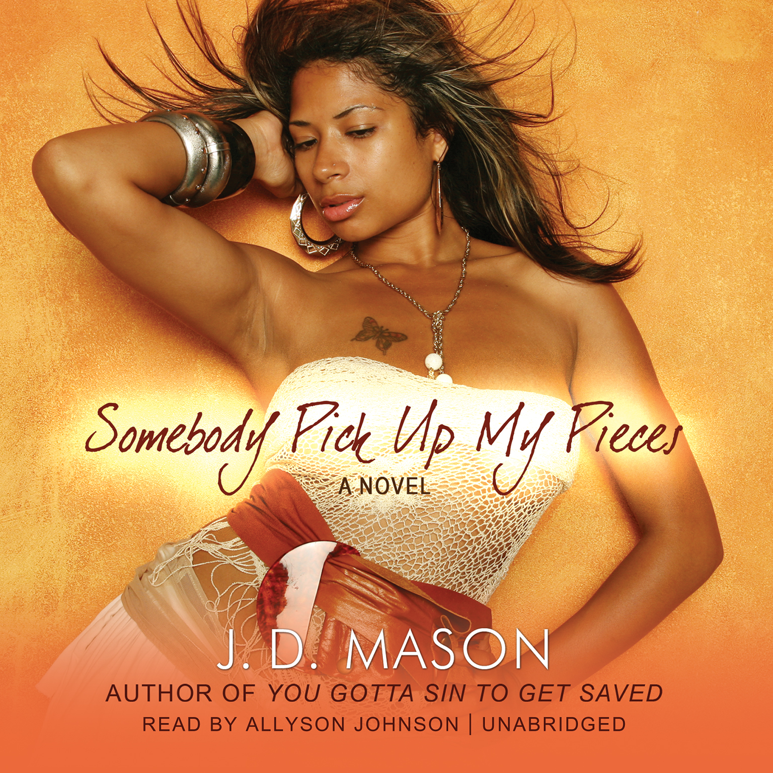Printable Somebody Pick Up My Pieces Audiobook Cover Art