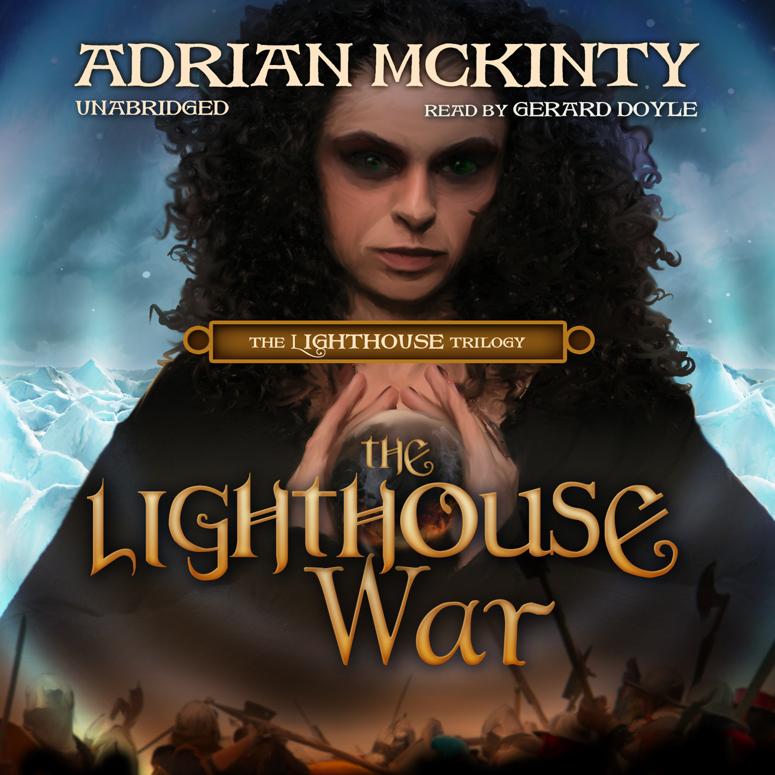 Printable The Lighthouse War Audiobook Cover Art