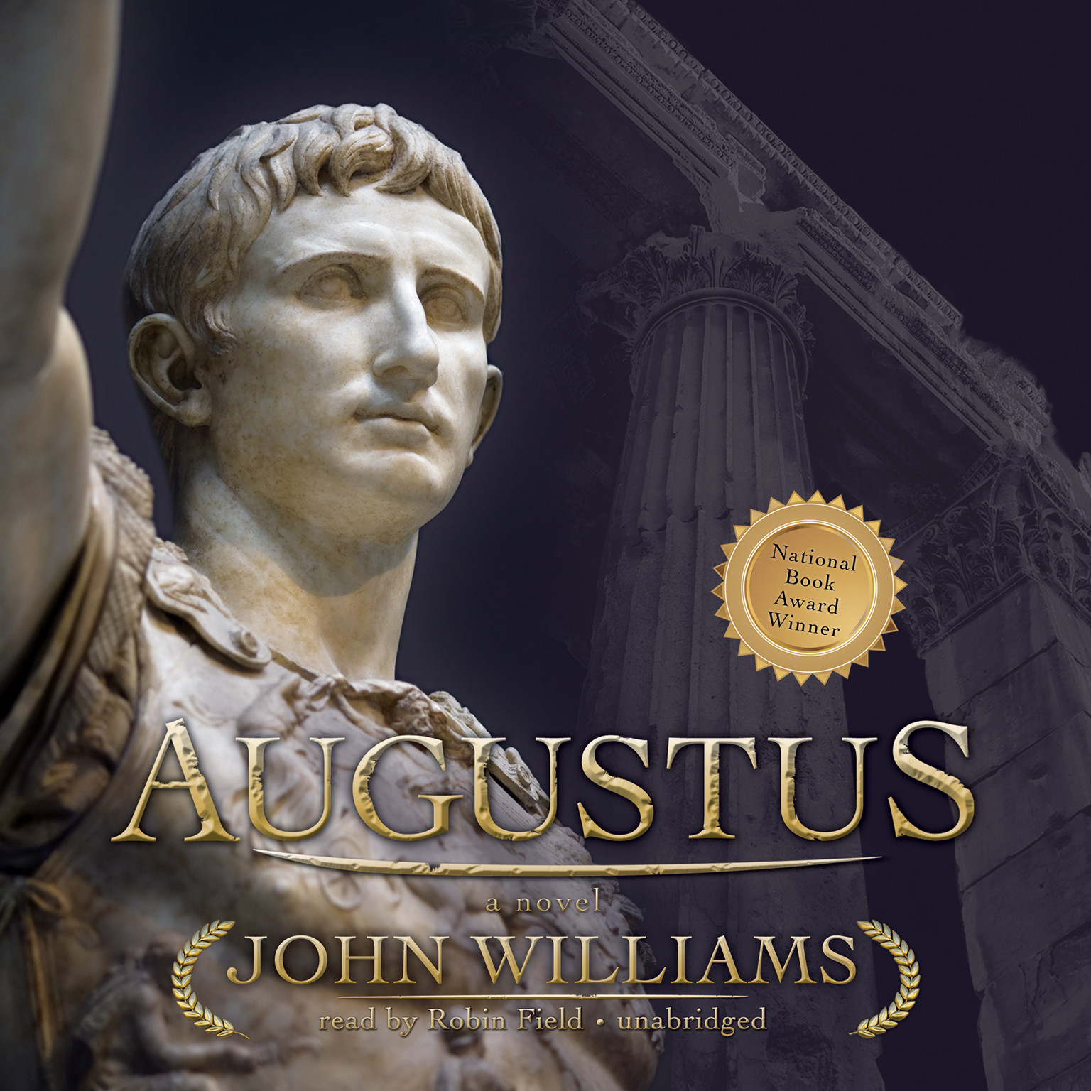 Printable Augustus Audiobook Cover Art