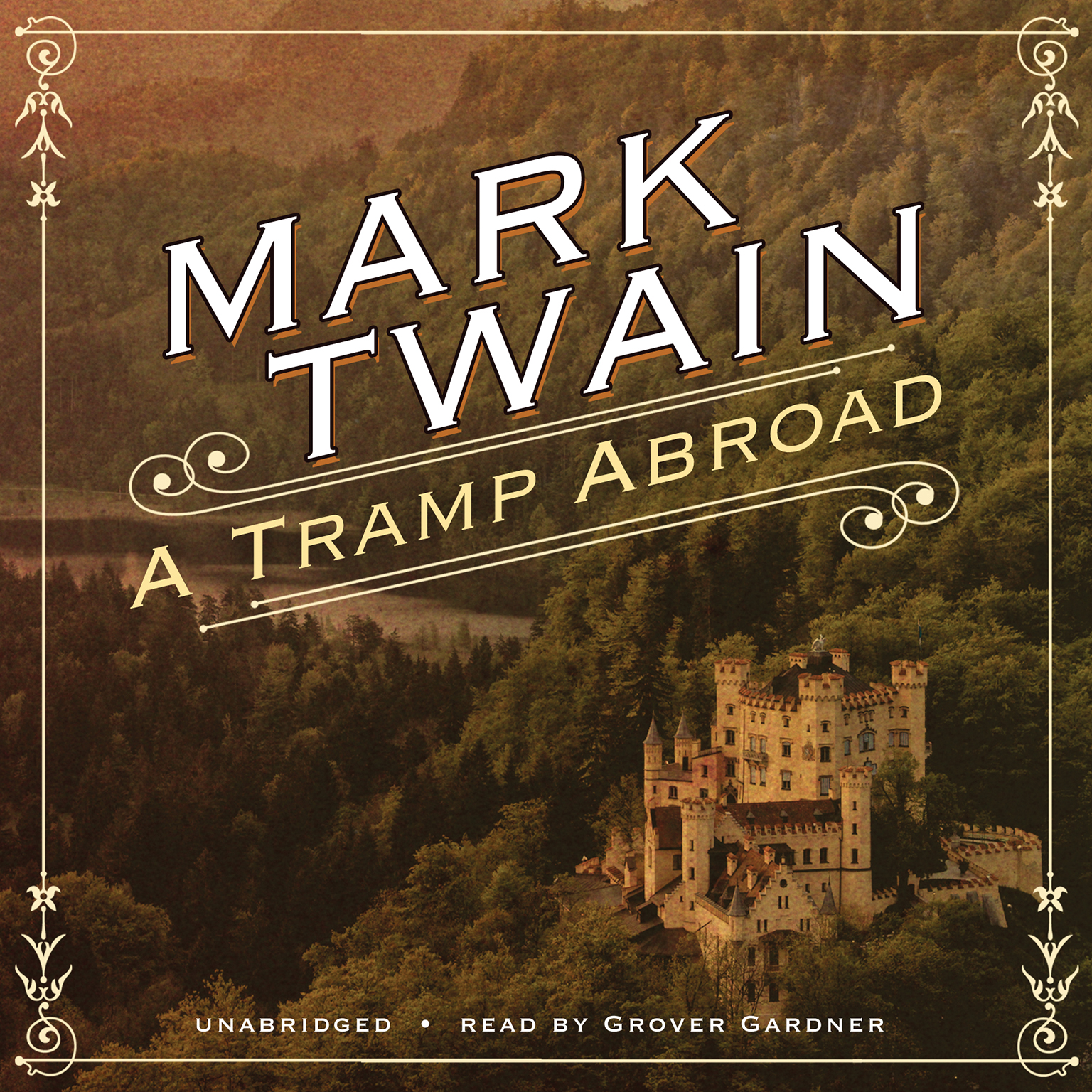 Printable A Tramp Abroad Audiobook Cover Art