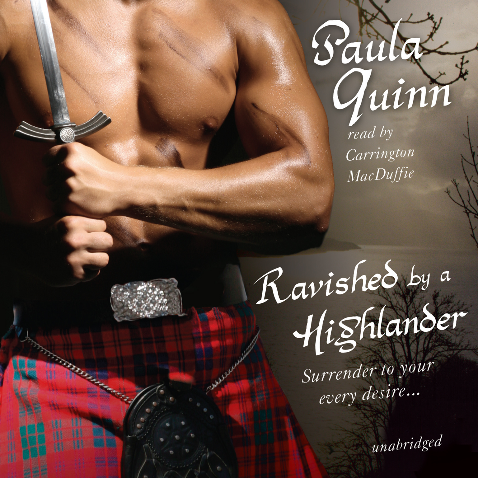 Printable Ravished by a Highlander Audiobook Cover Art