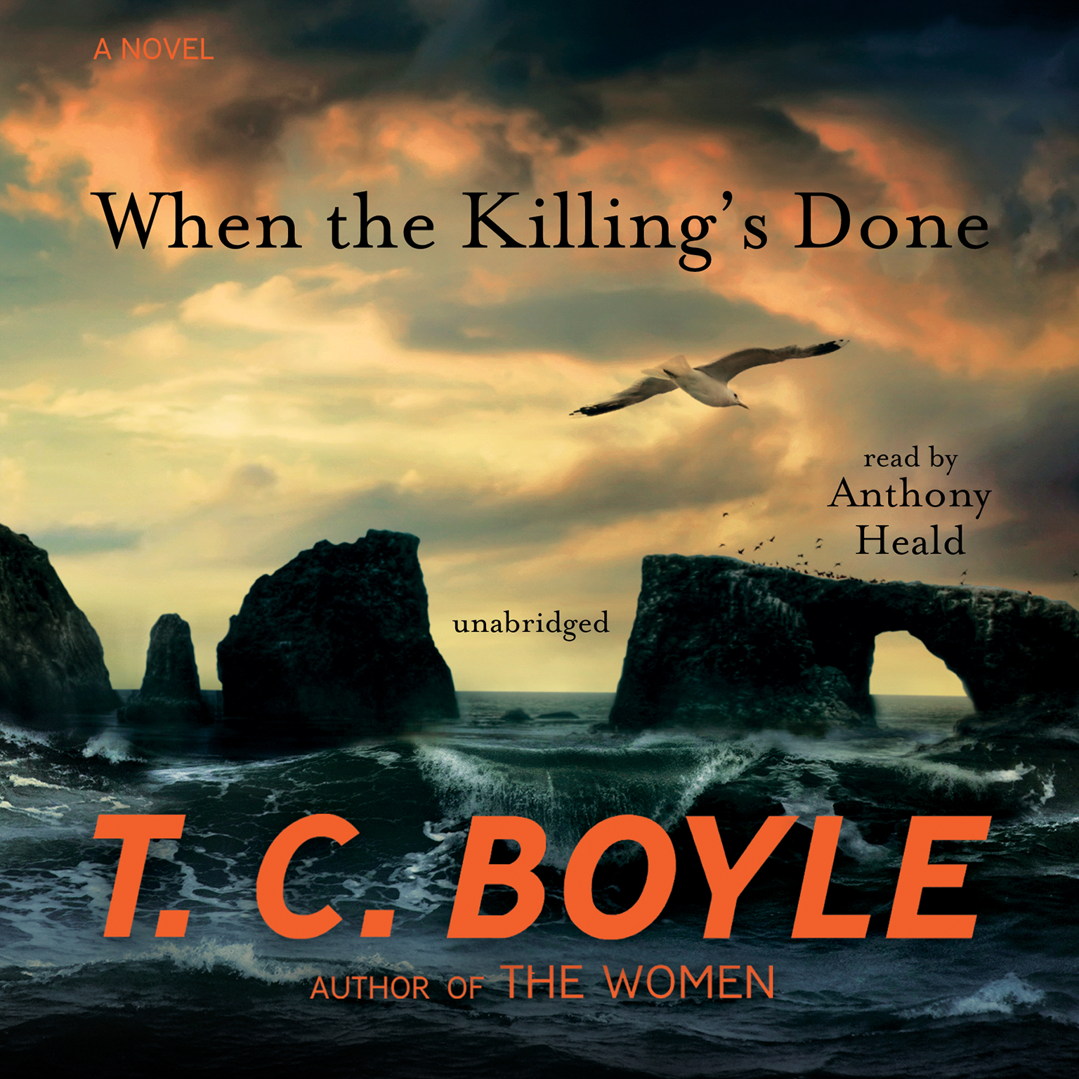 Printable When the Killing's Done: A Novel Audiobook Cover Art