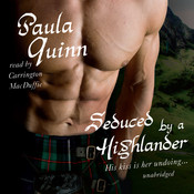 Seduced by a Highlander Audiobook, by Paula Quinn