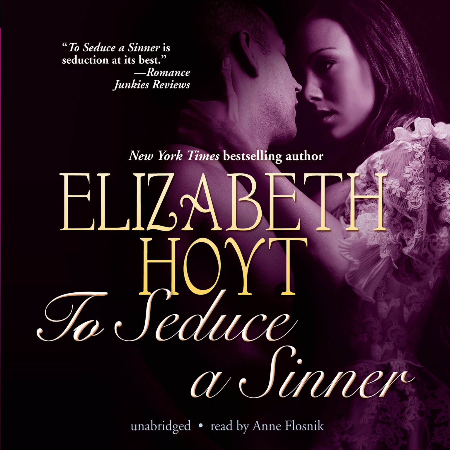 Printable To Seduce a Sinner Audiobook Cover Art