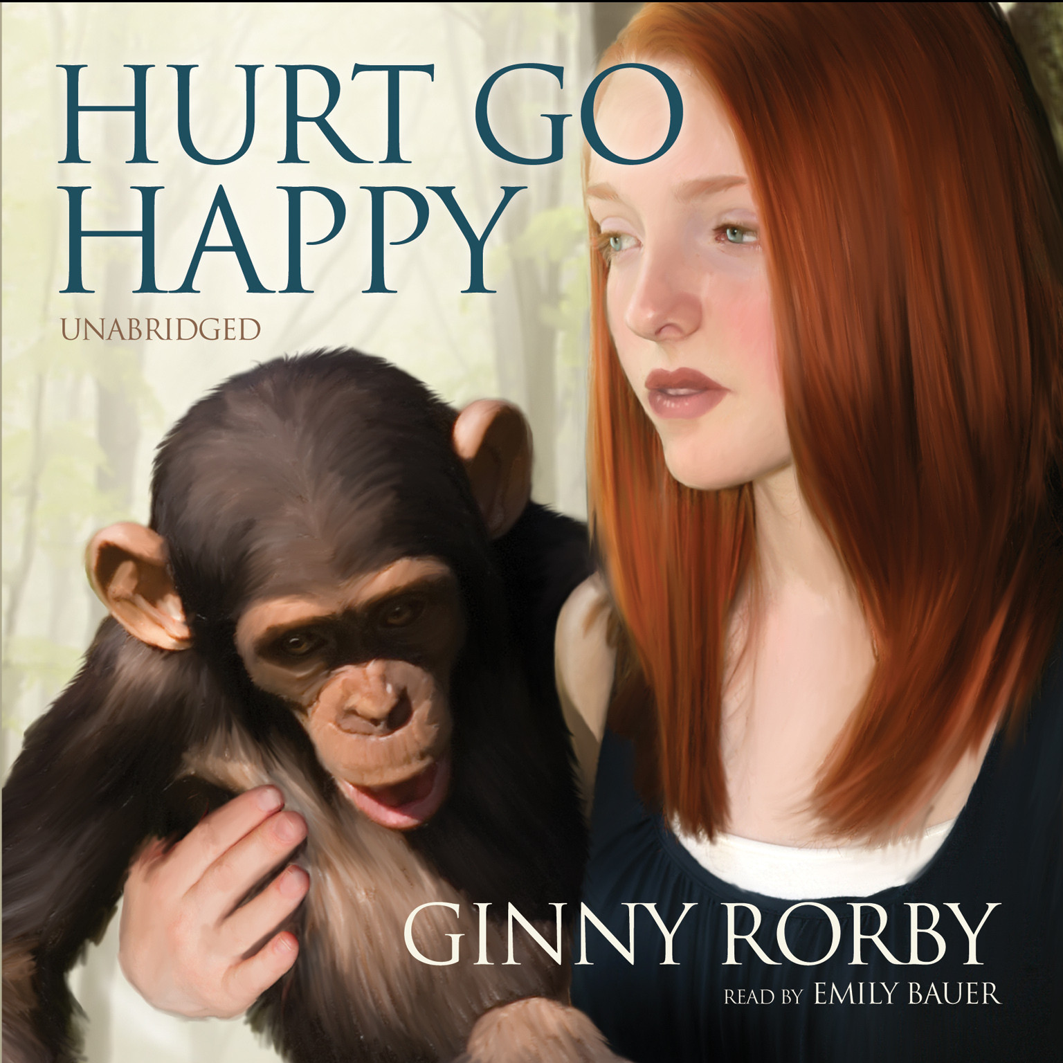 Printable Hurt Go Happy Audiobook Cover Art