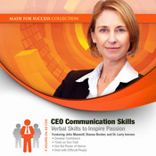CEO Communication Skills: Verbal Skills to Inspire Passion Audiobook, by Made for Success