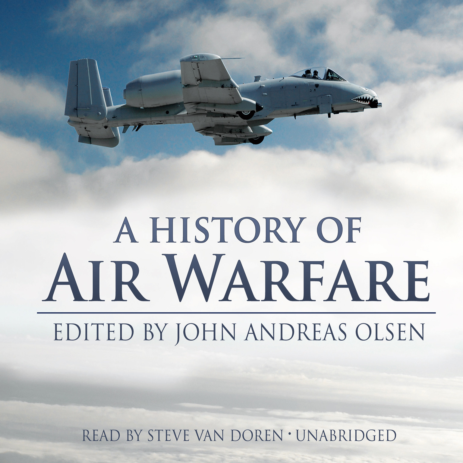 Printable A History of Air Warfare Audiobook Cover Art