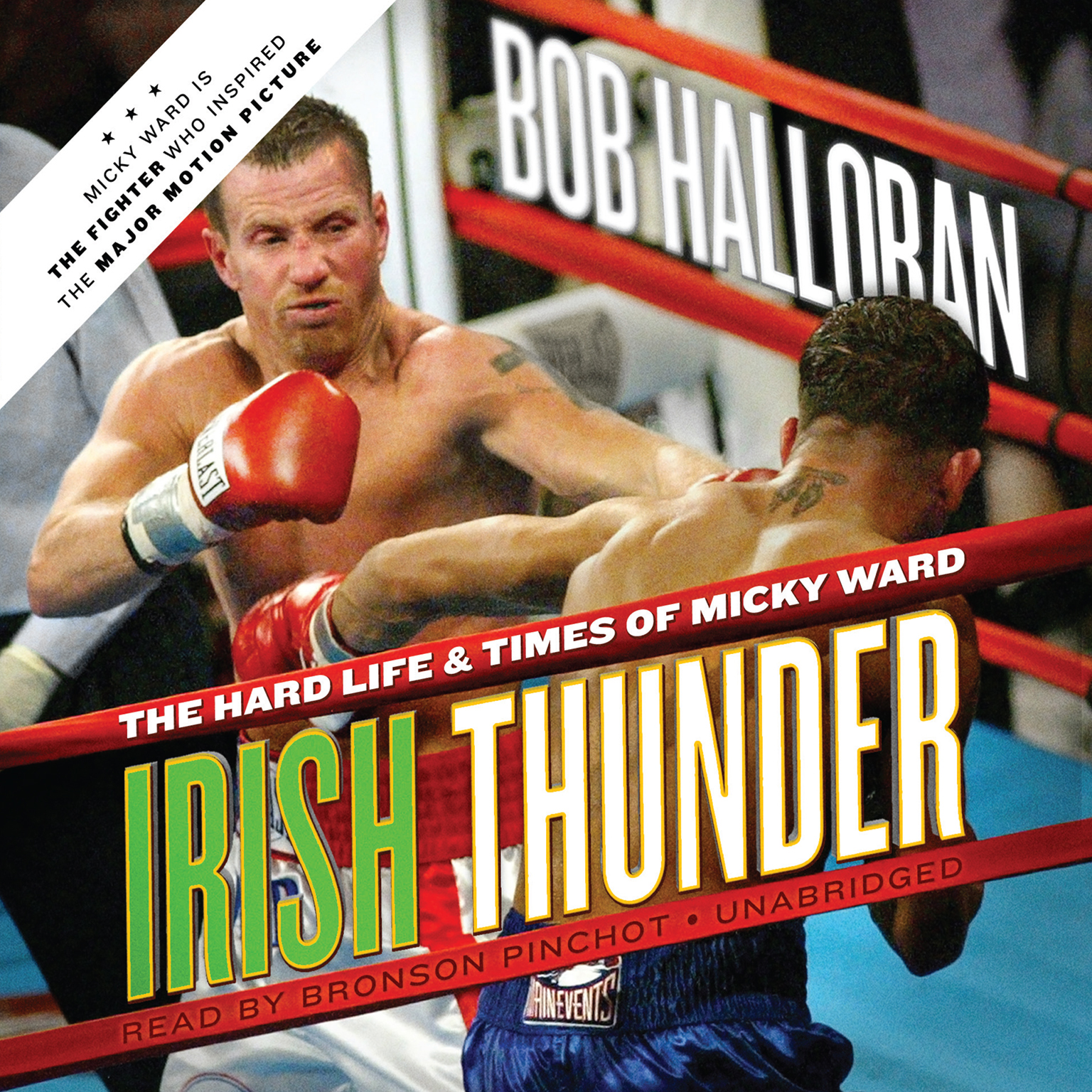 Printable Irish Thunder: The Hard Life & Times of Micky Ward Audiobook Cover Art