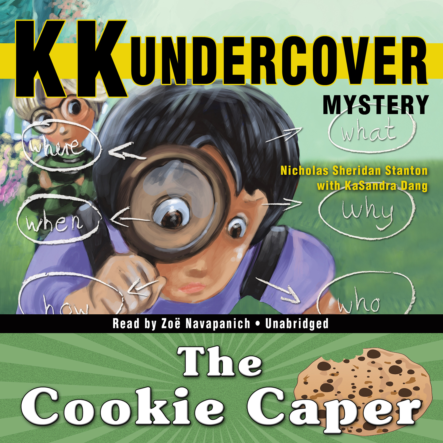 Printable KK Undercover Mystery: The Cookie Caper Audiobook Cover Art