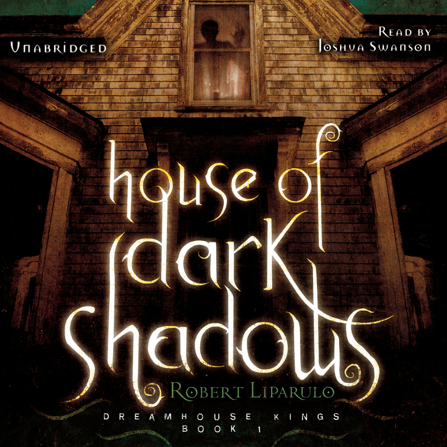 Printable House of Dark Shadows Audiobook Cover Art