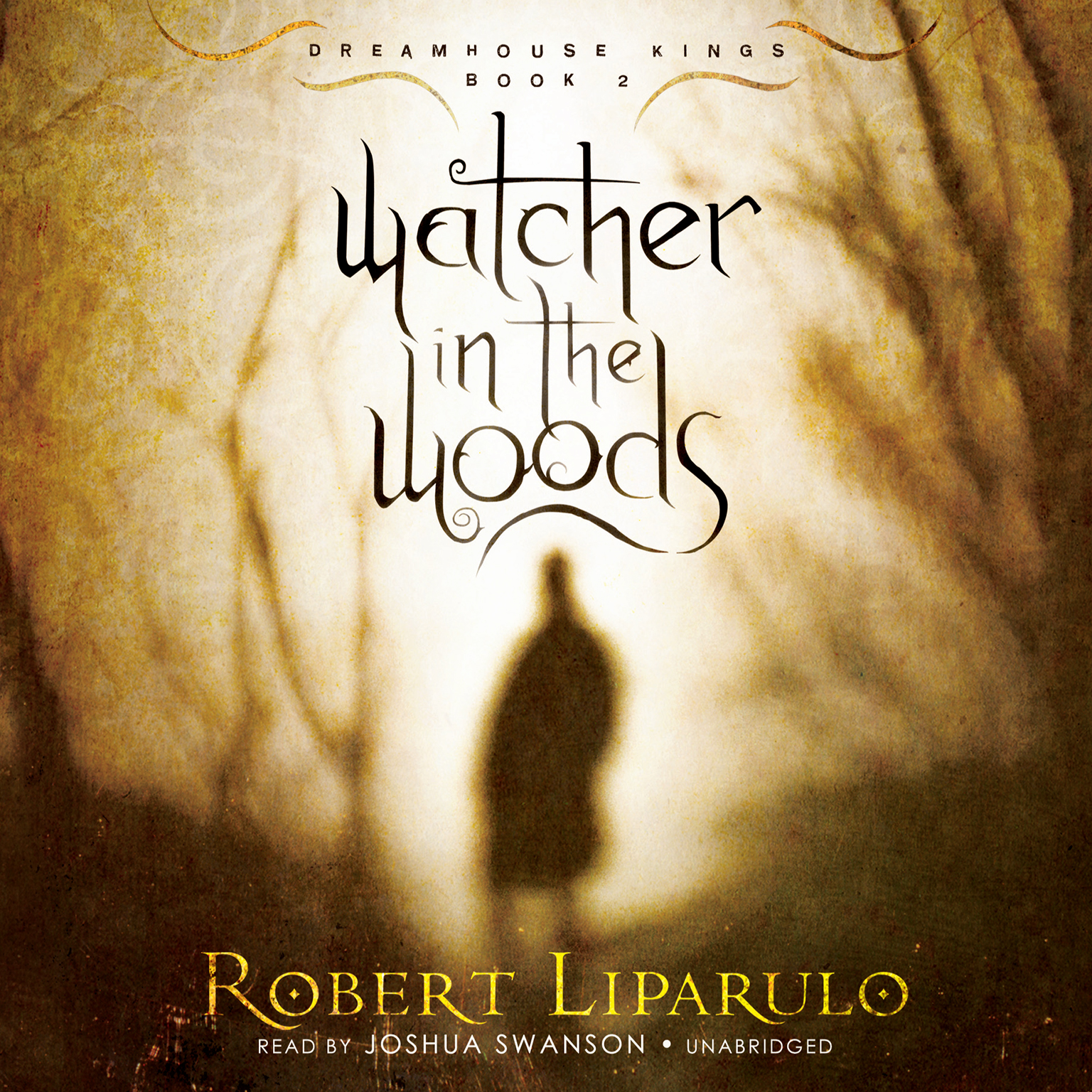 Printable Watcher in the Woods Audiobook Cover Art