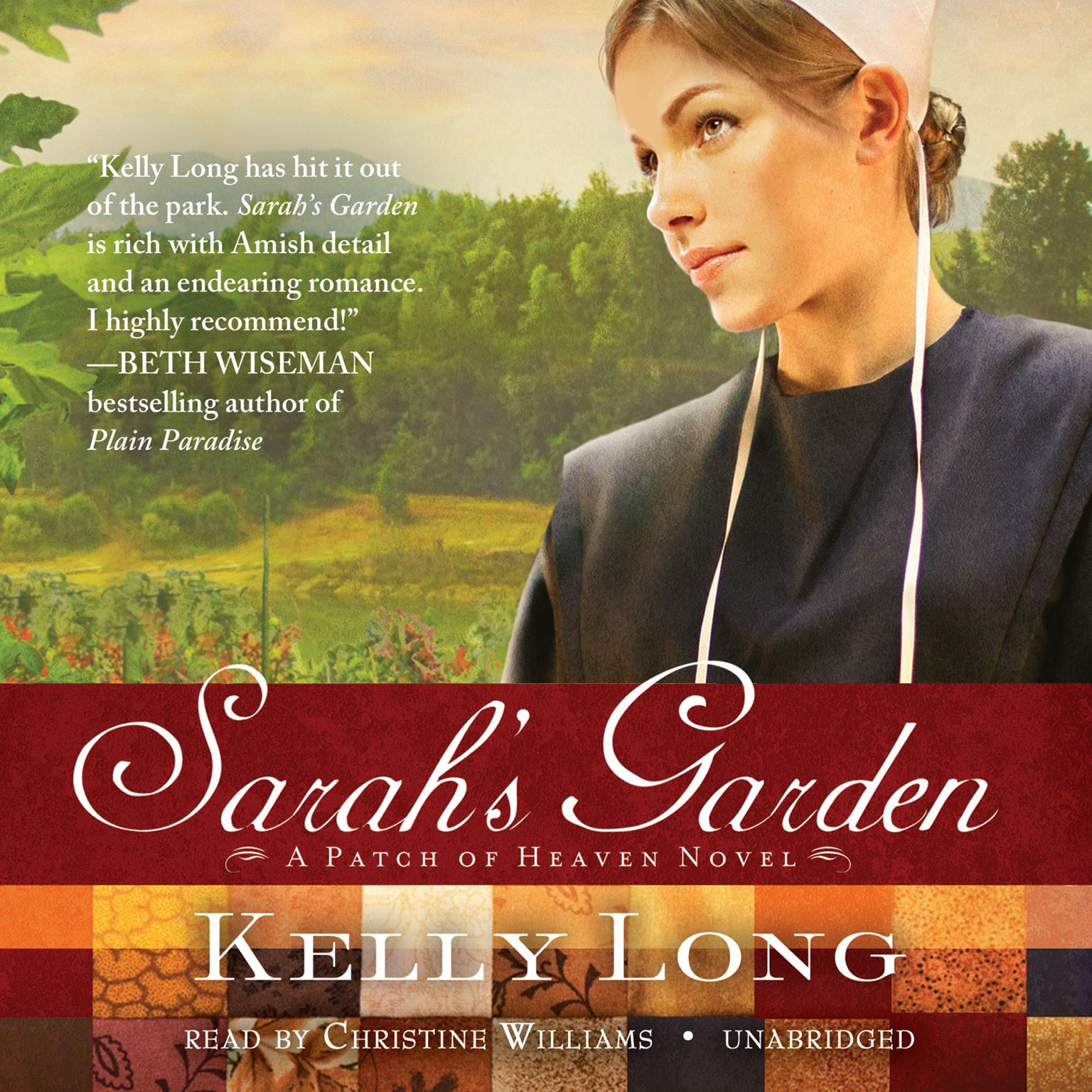 Printable Sarah's Garden: A Patch of Heaven Novel Audiobook Cover Art
