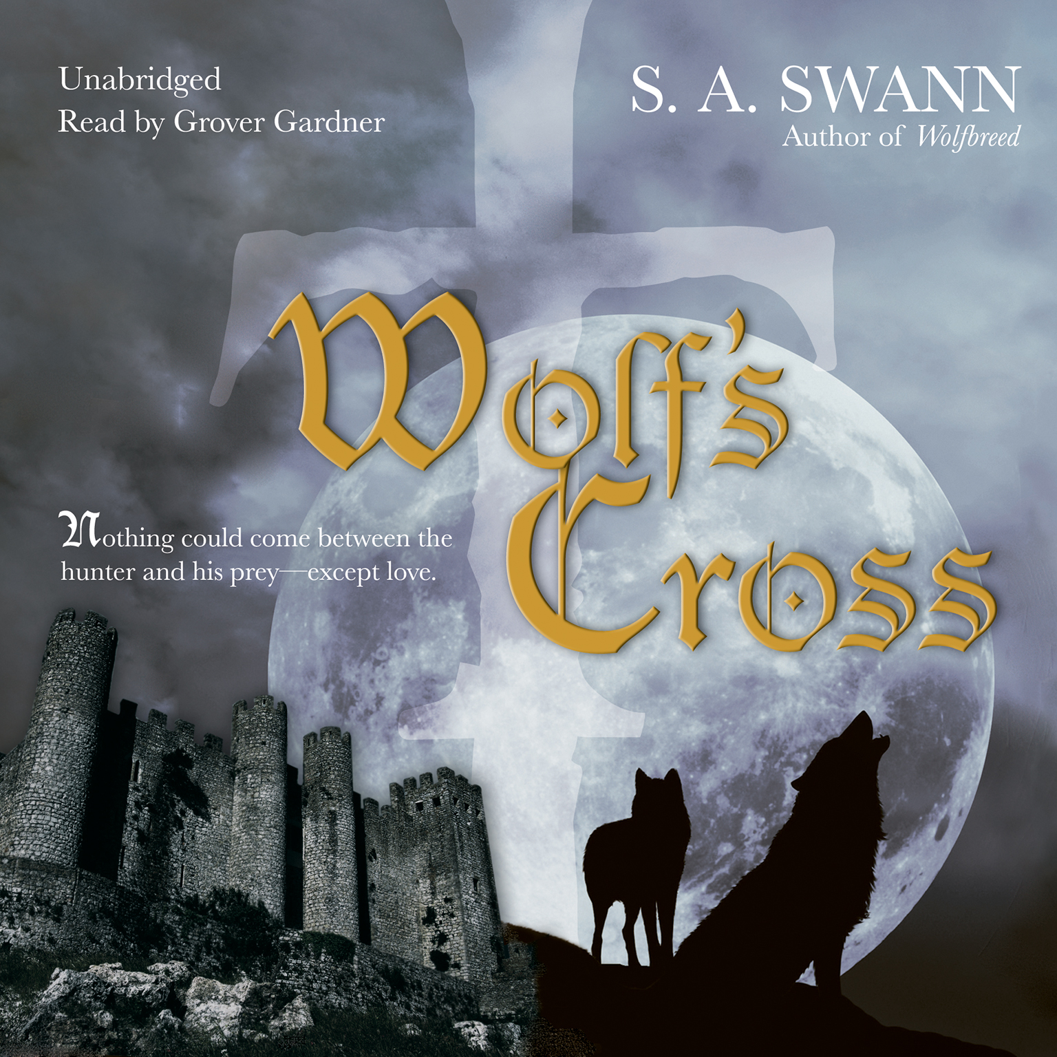 Printable Wolf's Cross Audiobook Cover Art