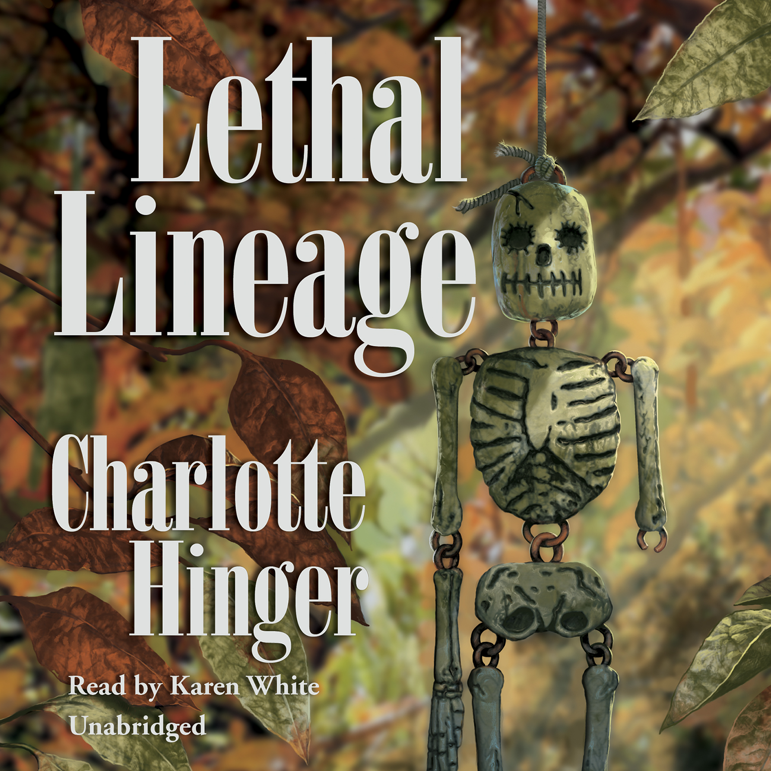 Printable Lethal Lineage Audiobook Cover Art
