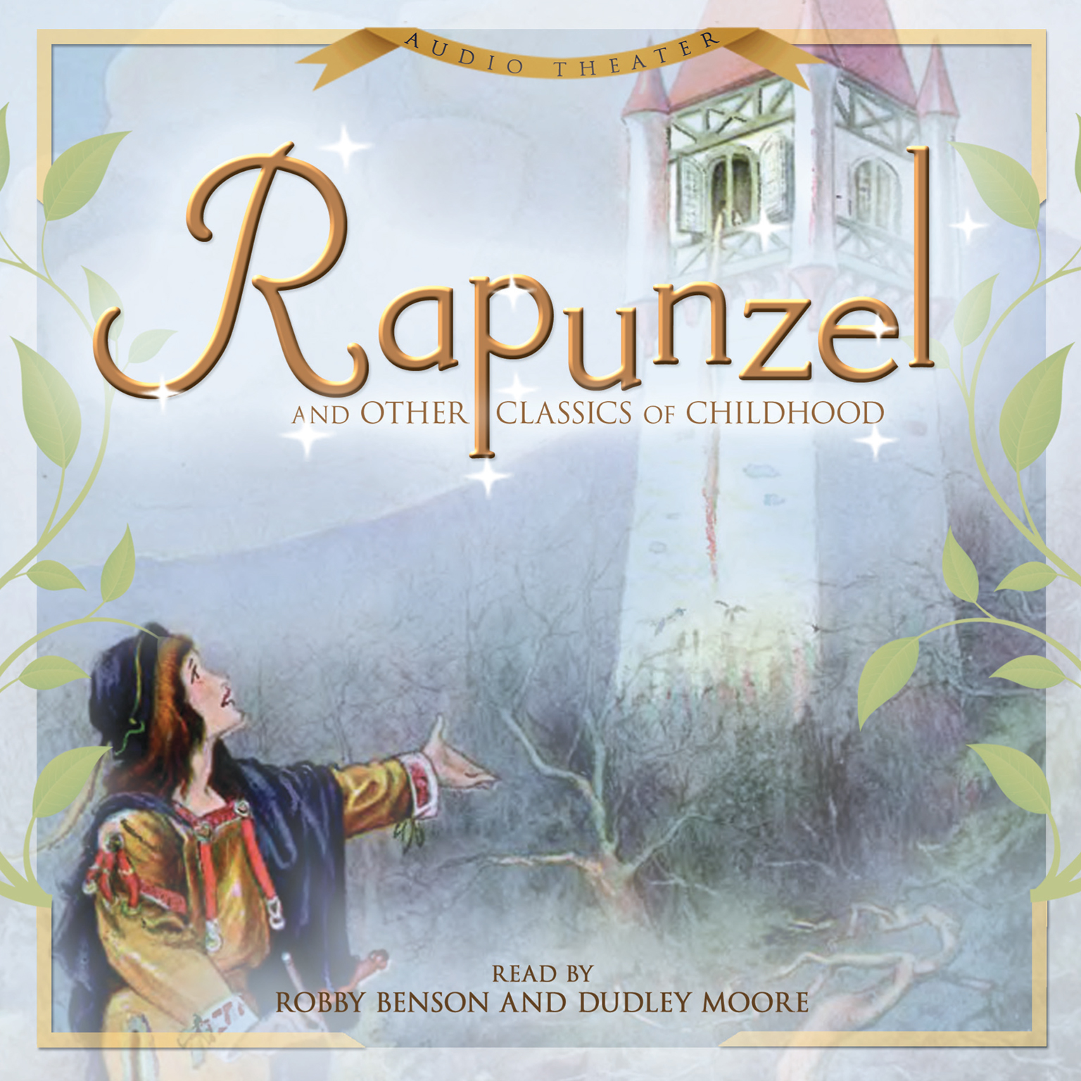 Printable Rapunzel and Other Classics of Childhood Audiobook Cover Art