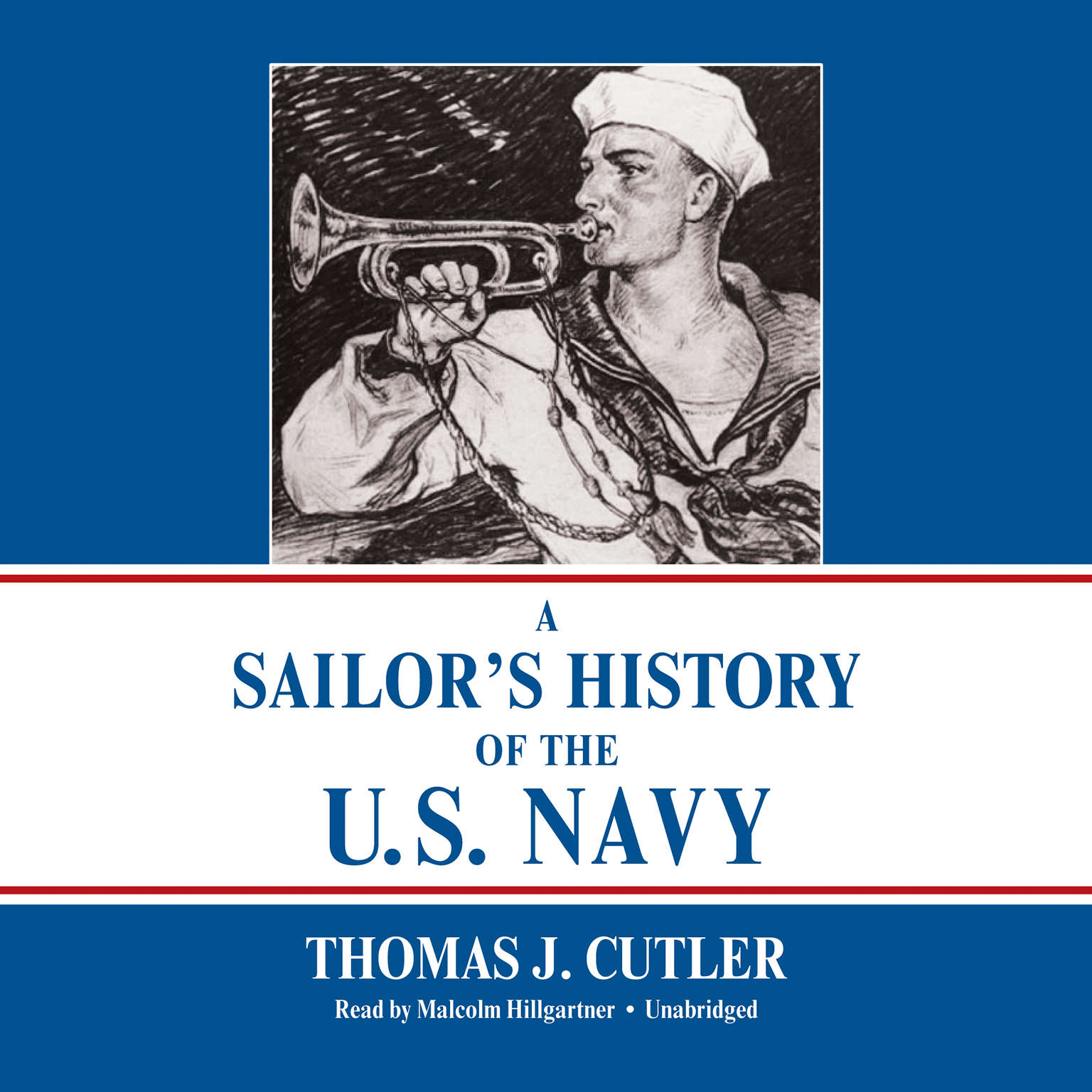 Printable A Sailor's History of the U.S. Navy Audiobook Cover Art