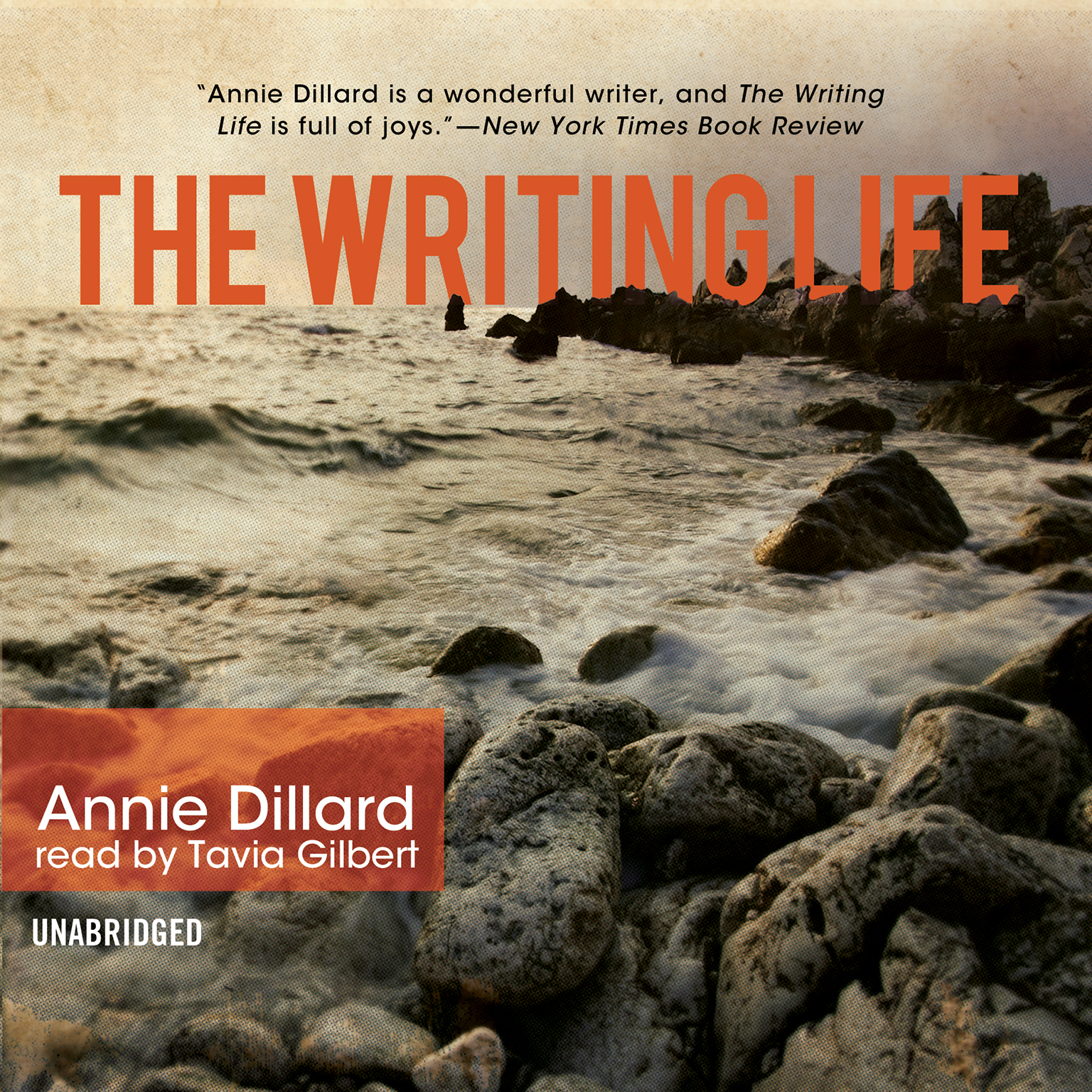 Printable The Writing Life Audiobook Cover Art