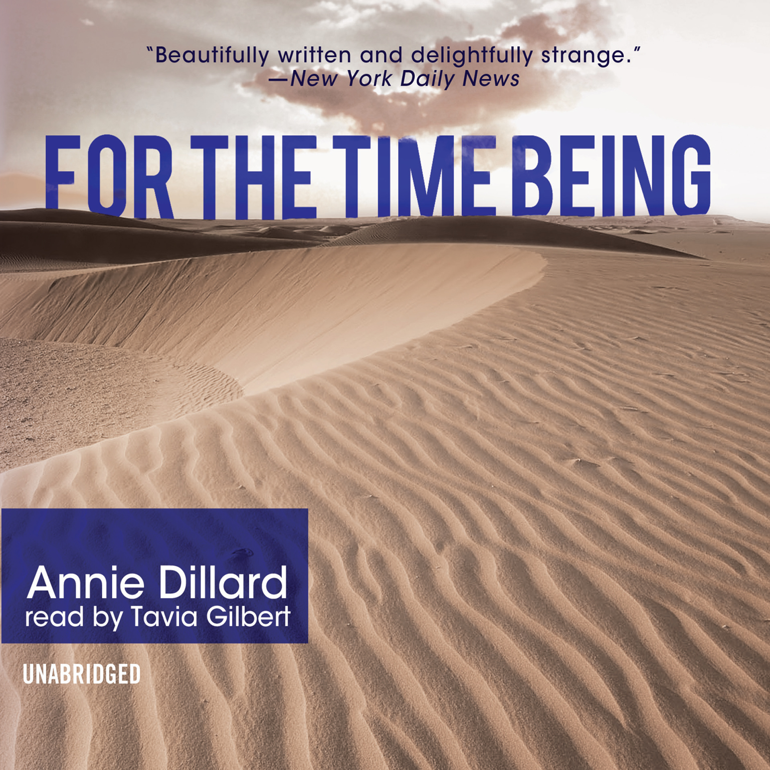 Printable For the Time Being Audiobook Cover Art