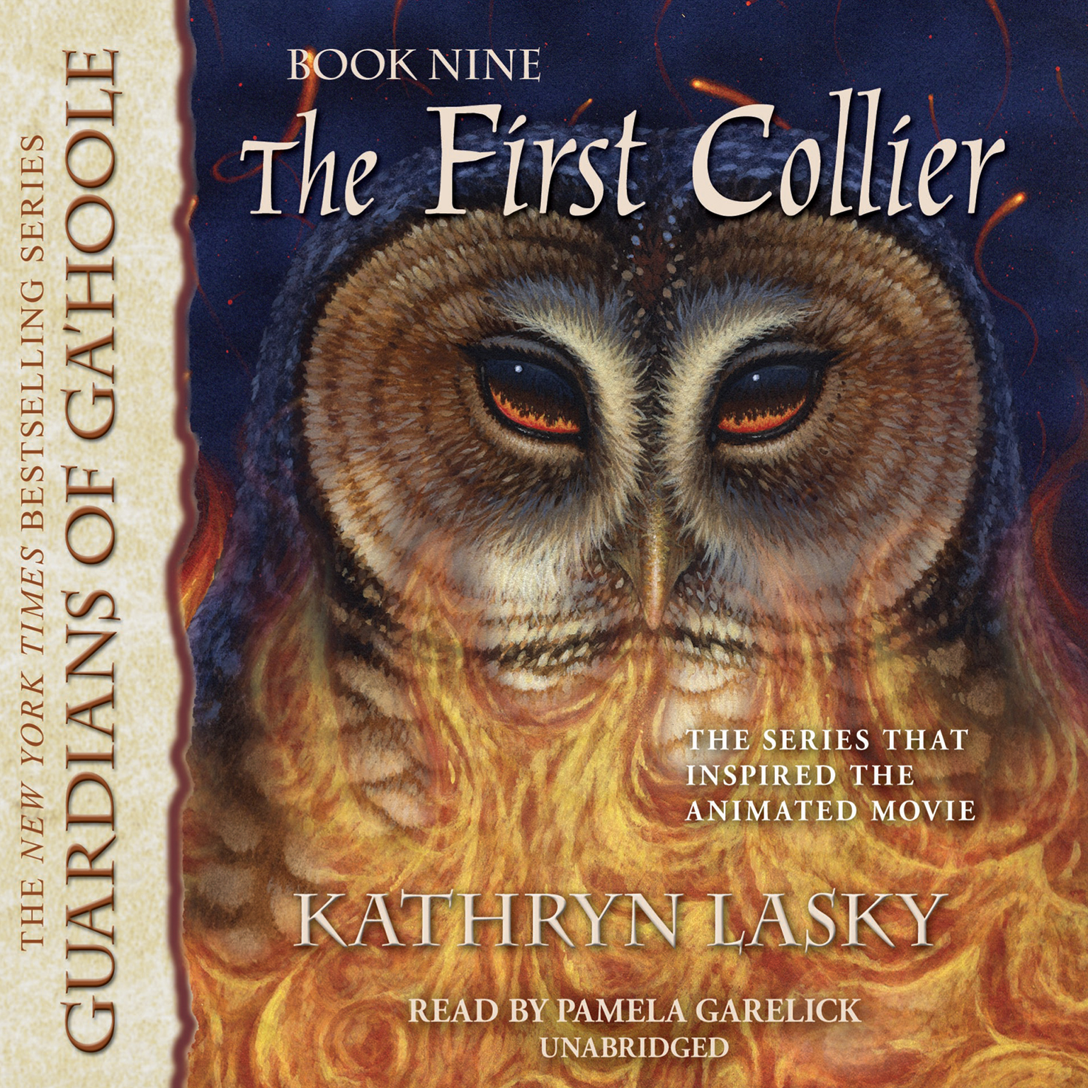 Printable The First Collier Audiobook Cover Art