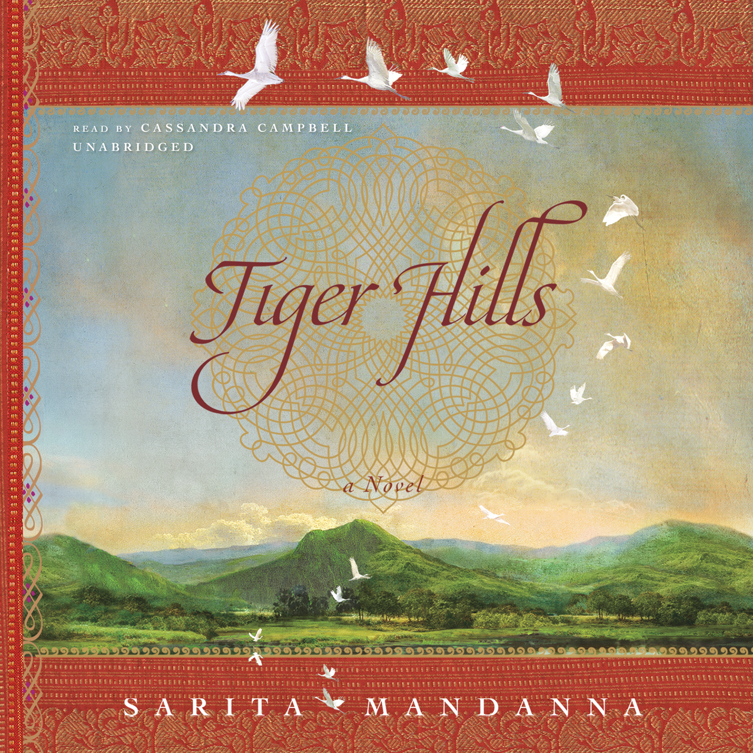 Printable Tiger Hills Audiobook Cover Art