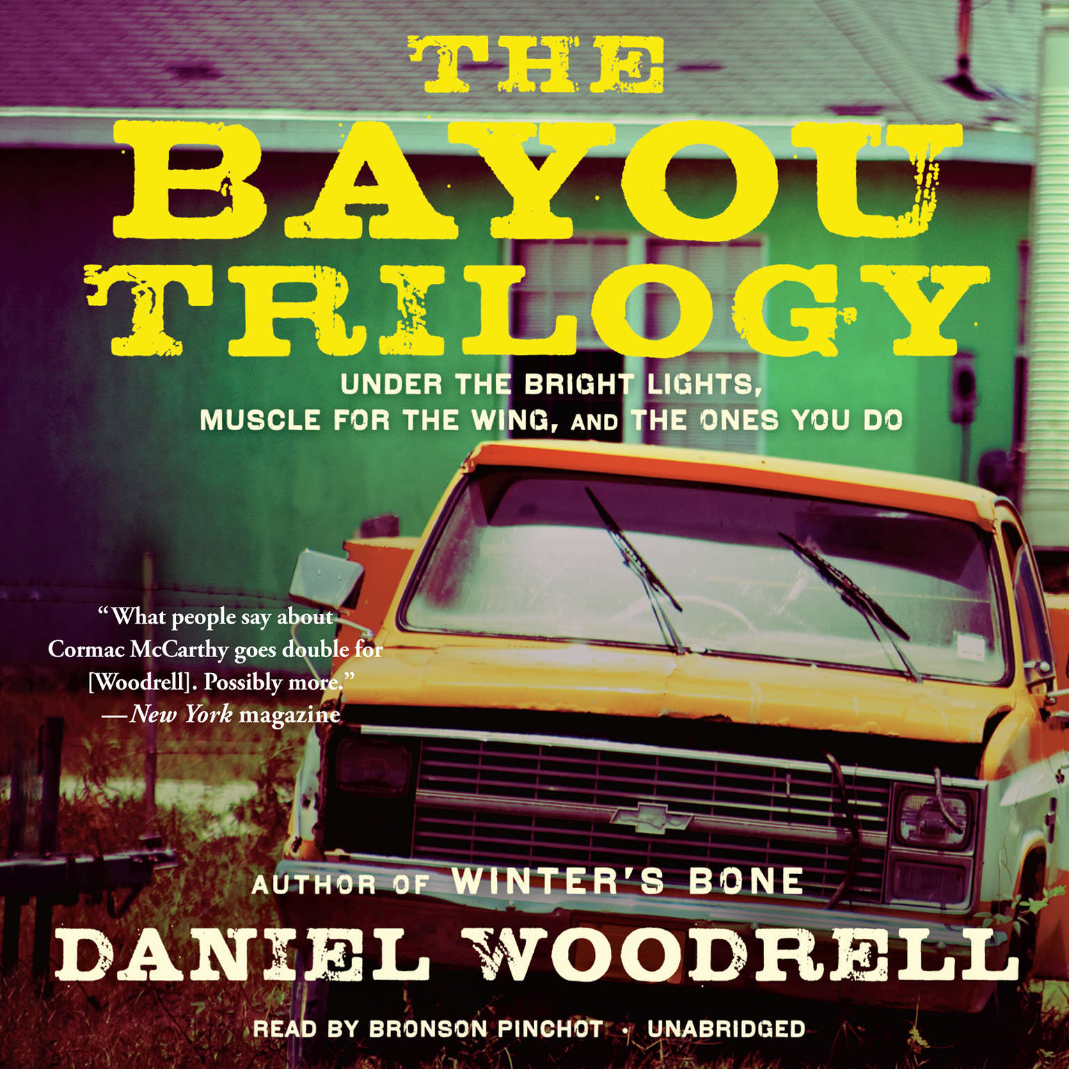 Printable The Bayou Trilogy: Under the Bright Lights, Muscle for the Wing, and The Ones You Do Audiobook Cover Art