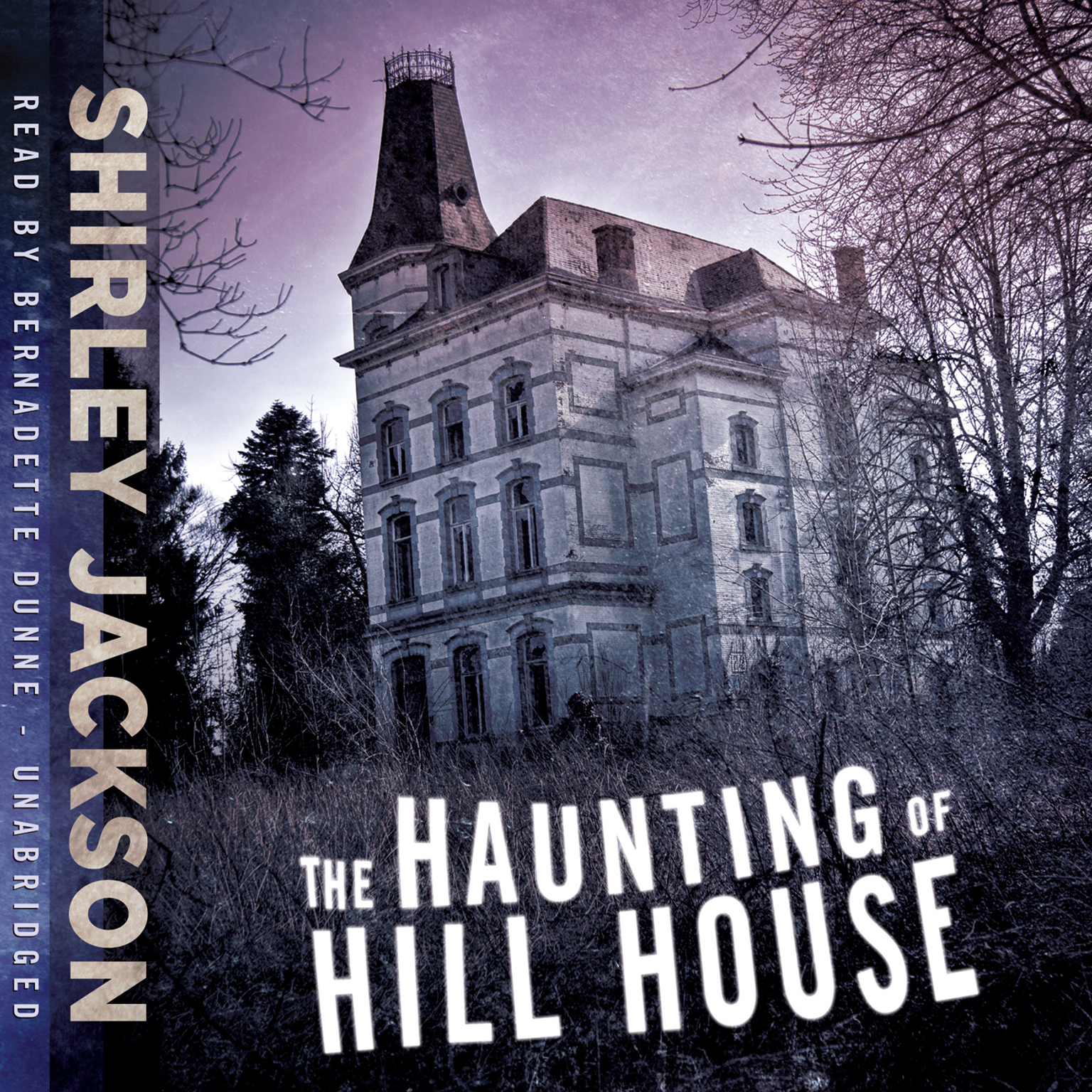 Printable The Haunting of Hill House Audiobook Cover Art