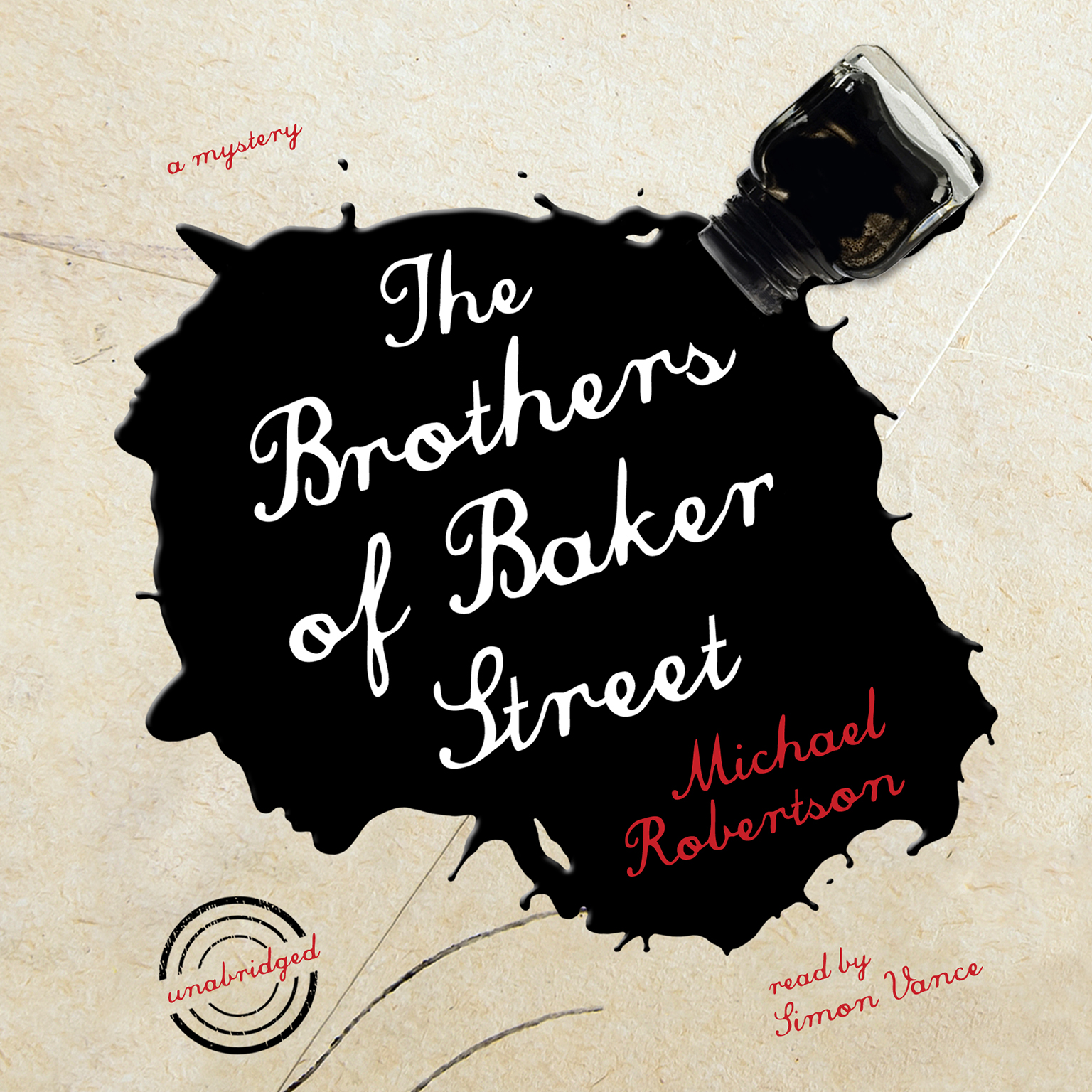 Printable The Brothers of Baker Street Audiobook Cover Art