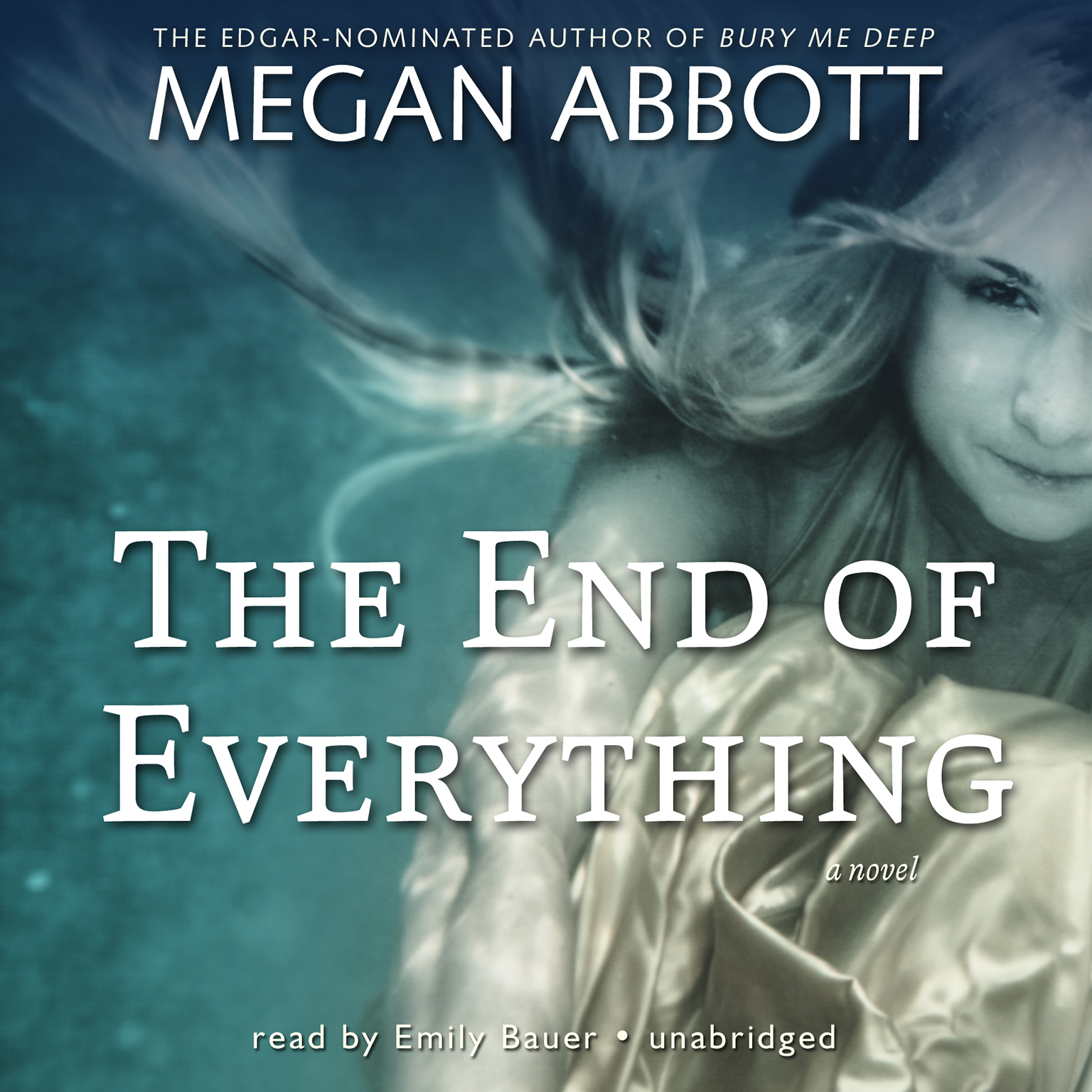 Printable The End of Everything: A Novel Audiobook Cover Art