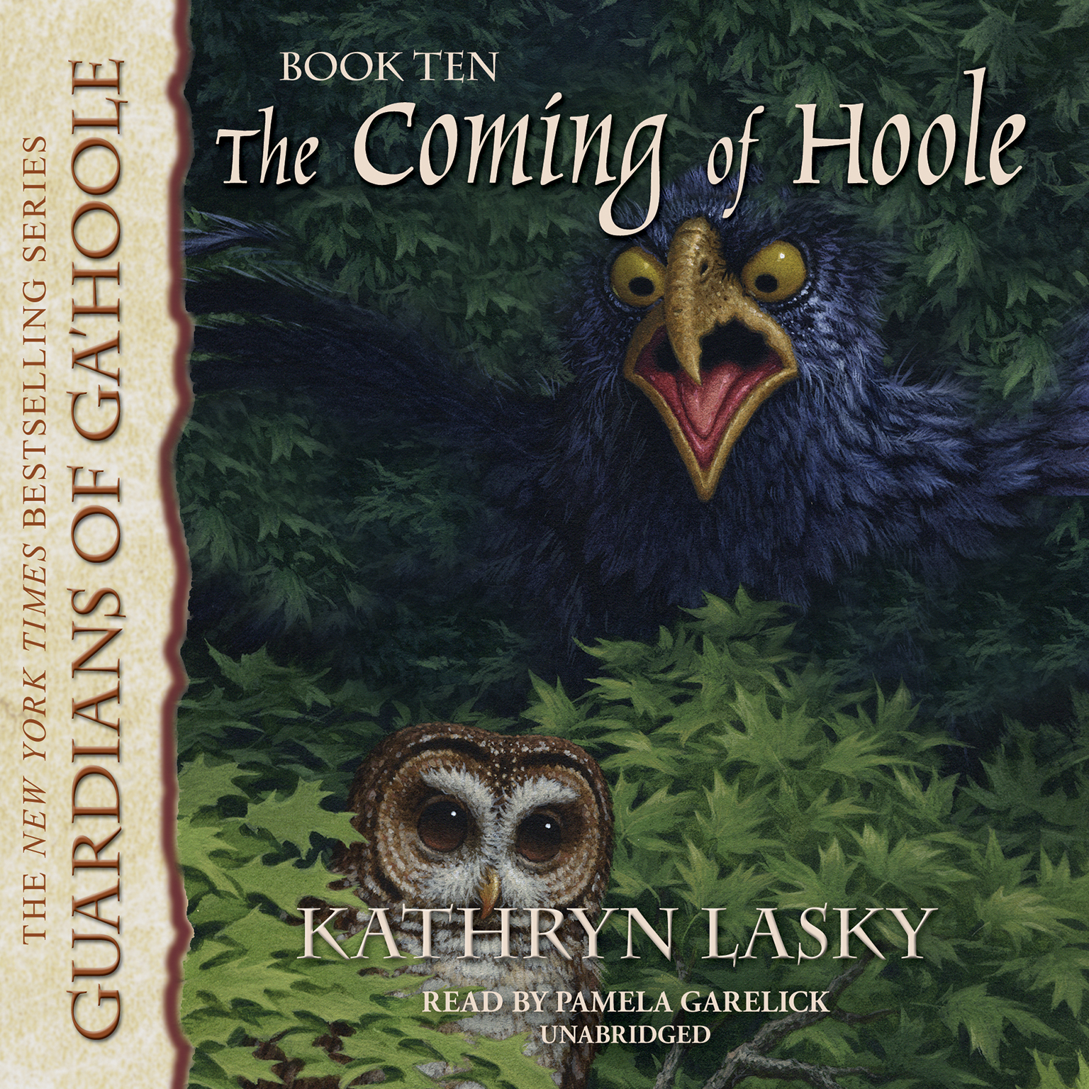 Printable The Coming of Hoole Audiobook Cover Art
