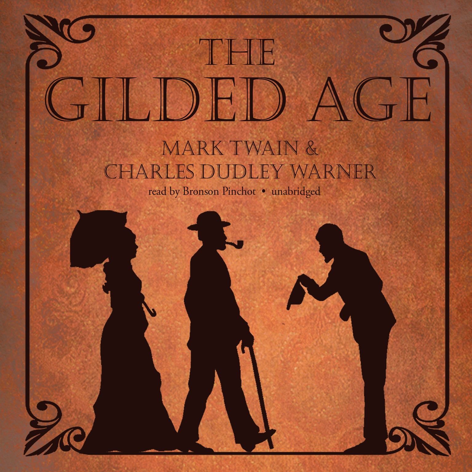 Printable The Gilded Age Audiobook Cover Art