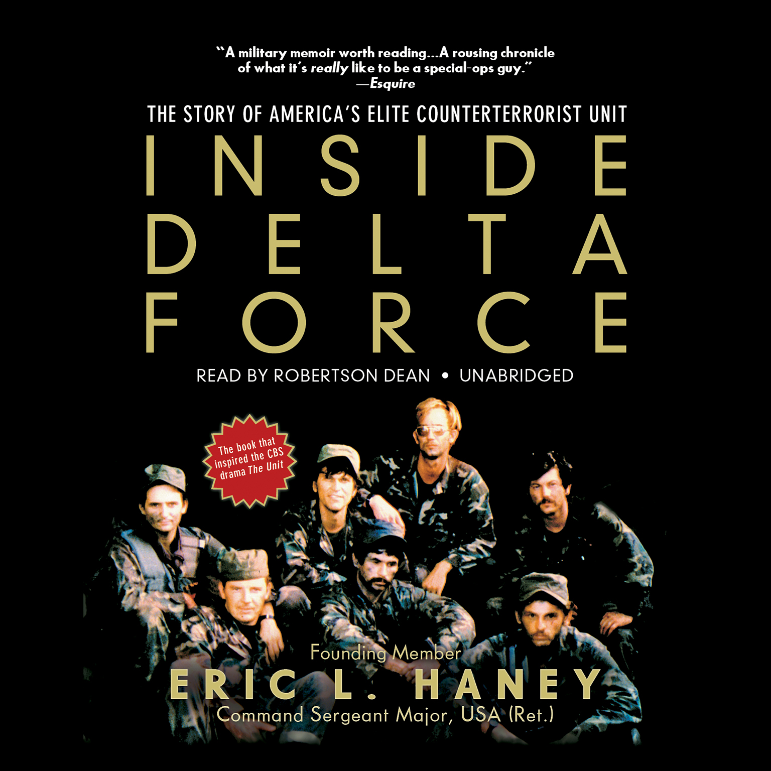 Printable Inside Delta Force: The Story of America's Elite Counterterrorist Unit Audiobook Cover Art
