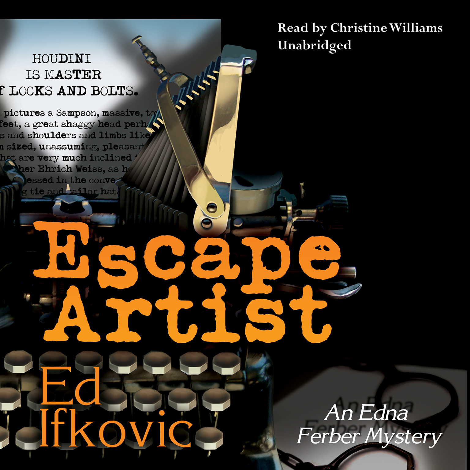 Printable Escape Artist: An Edna Ferber Mystery Audiobook Cover Art