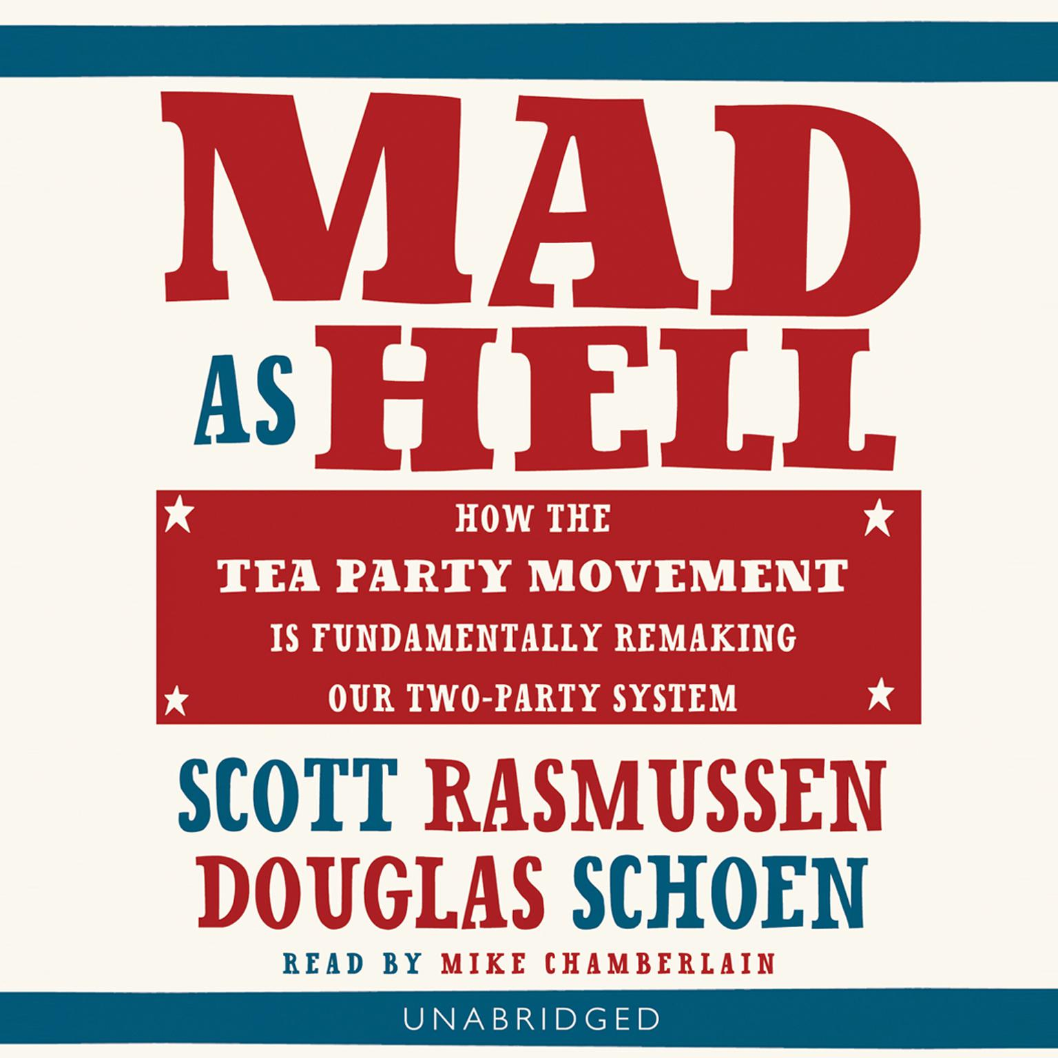 Printable Mad as Hell Audiobook Cover Art